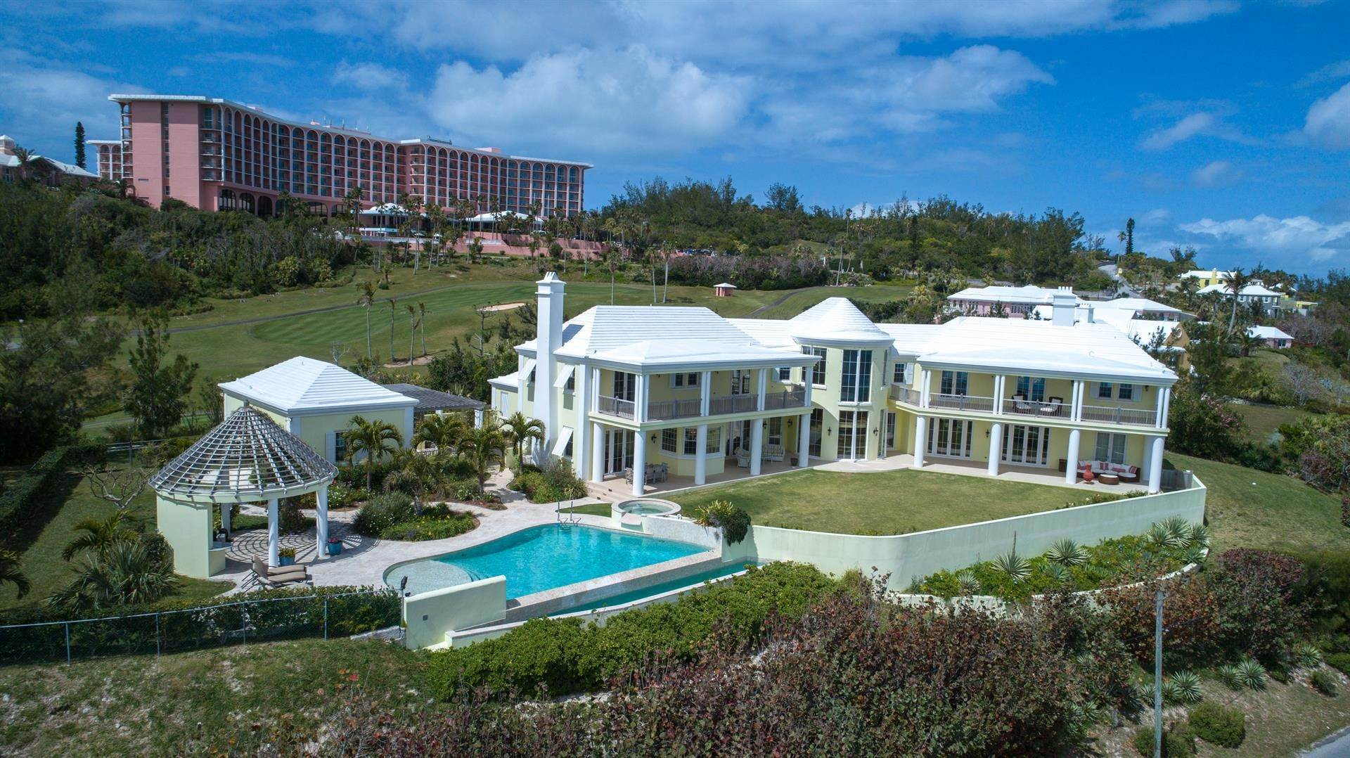 4. Single Family Home para Venda às Duamber At The Fairmont Southampton 119 Harbour View Drive Southampton Parish, Bermuda,SN02 Bermuda