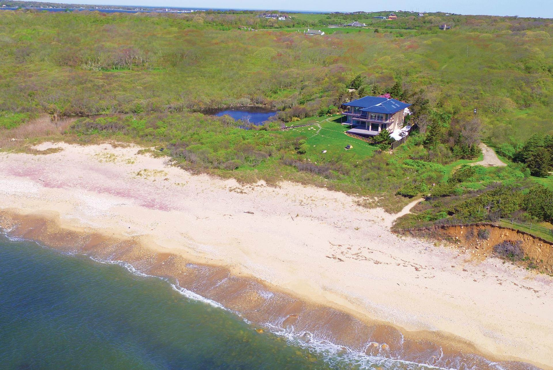 Single Family Home pour l à vendre à Montauk Oceanfront Paradise, 36 acres of Private Land Montauk, New York,11954 États-Unis