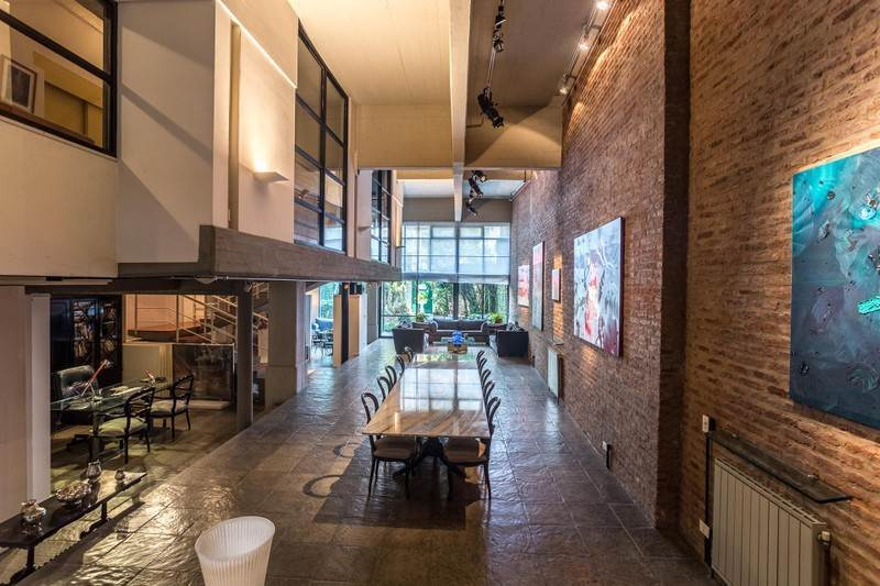 Incredible new york style loft a luxury home for sale in for Casa moderna palermo