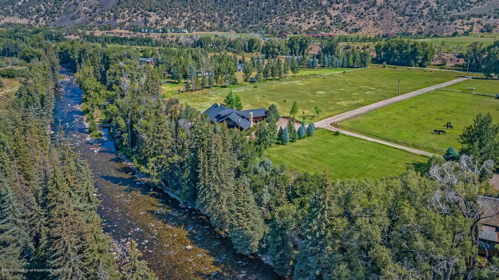 Single Family Home for Sale at 176 Letey Lane Woody Creek, Colorado,81656 United States