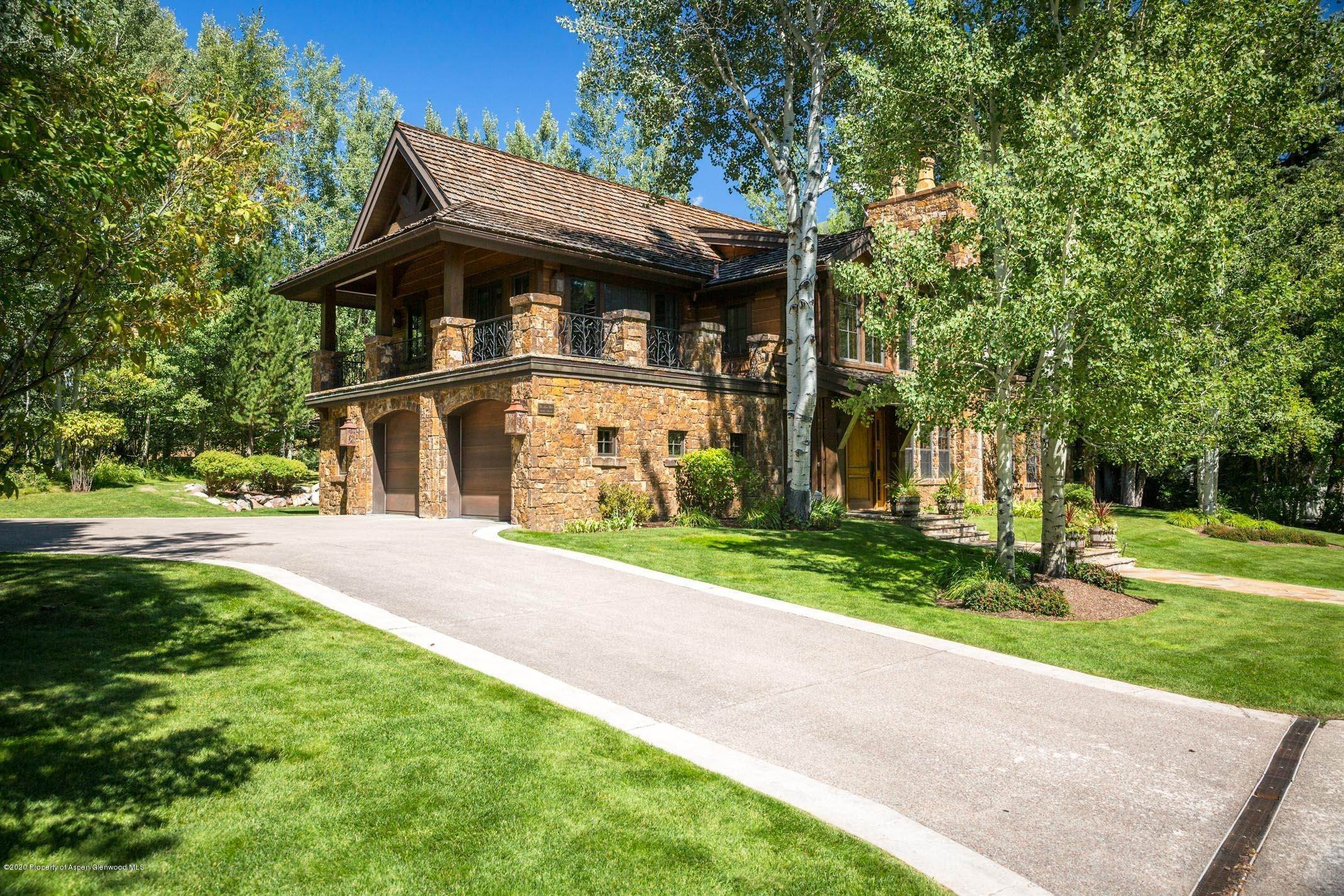 Single Family Home por un Alquiler en 815 Roaring Fork Road Aspen, Colorado,81611 Estados Unidos