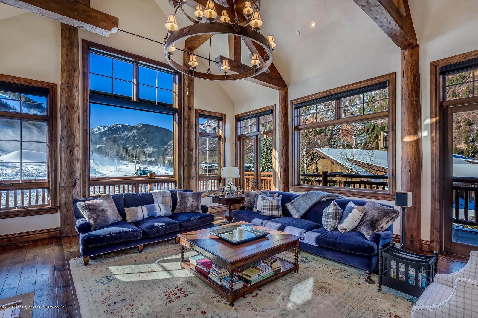 Villa/Townhouse for Rent at 117 Thunderbowl Lane Aspen, Colorado,81611 United States