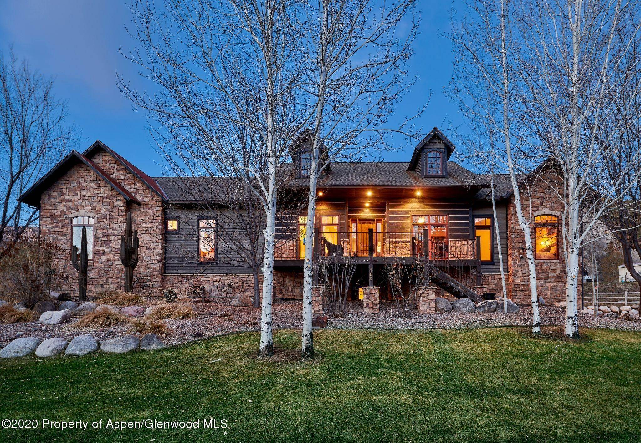 Single Family Home pour l à vendre à 465 Holland Hills Road Basalt, Colorado,81621 États-Unis