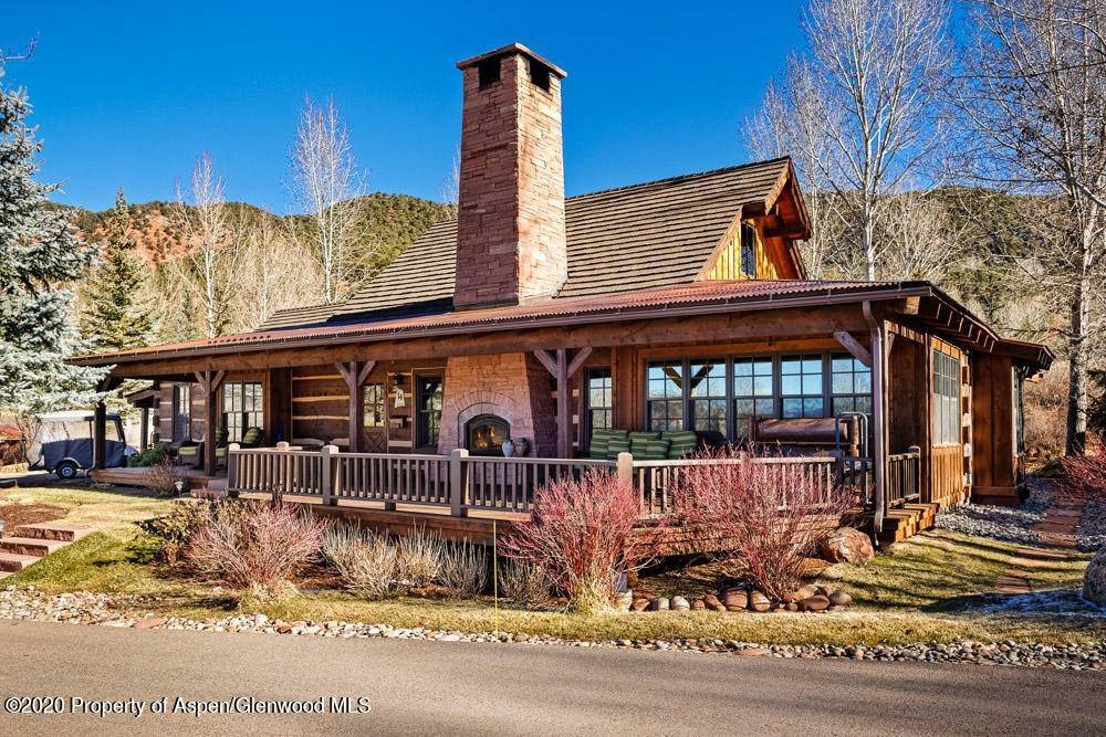 Single Family Home pour l à vendre à 14 Arbaney Ranch Road Basalt, Colorado,81621 États-Unis