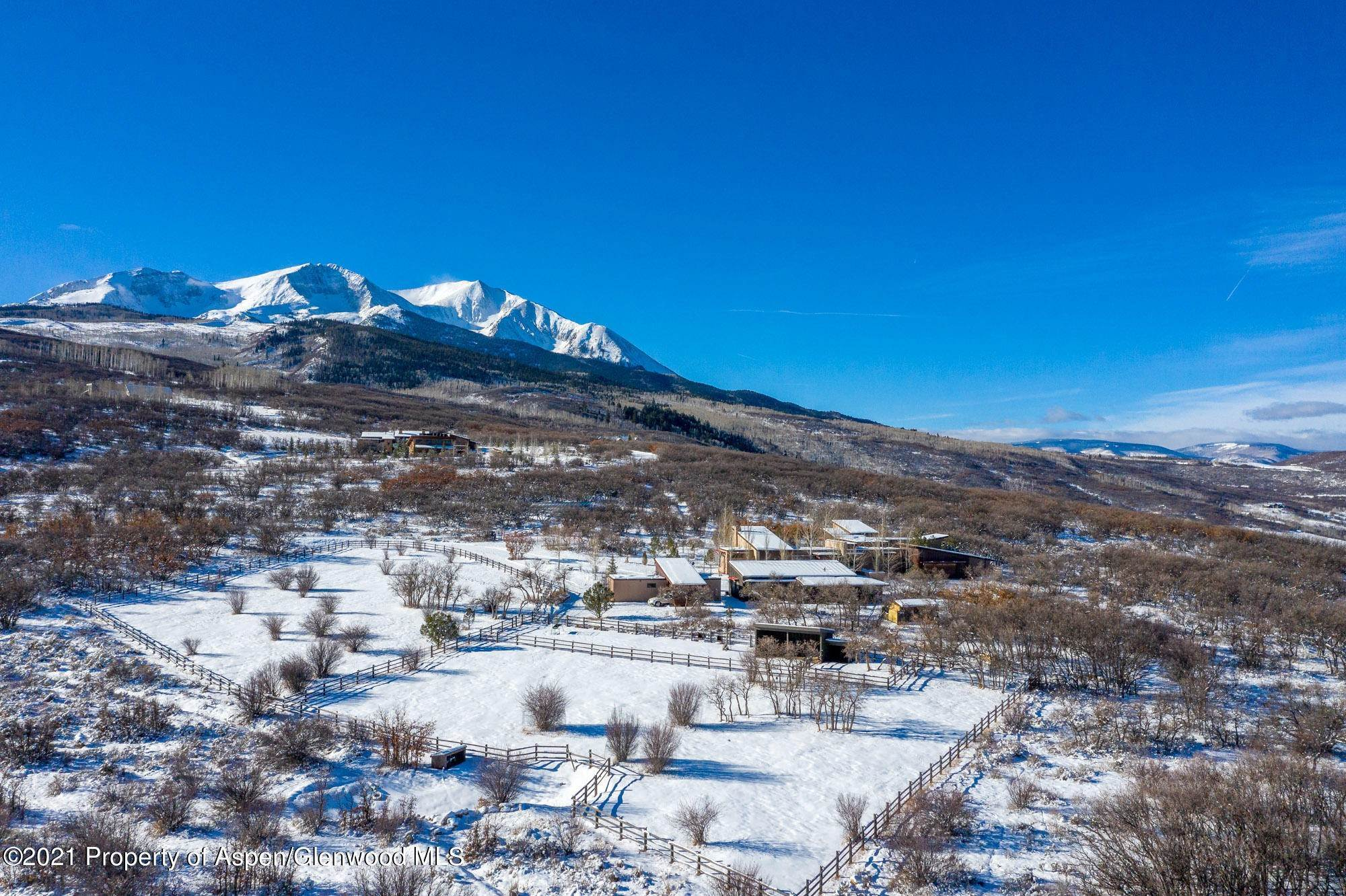 Single Family Home pour l à vendre à 1601 Sopris Mountain Ranch Road Basalt, Colorado,81621 États-Unis