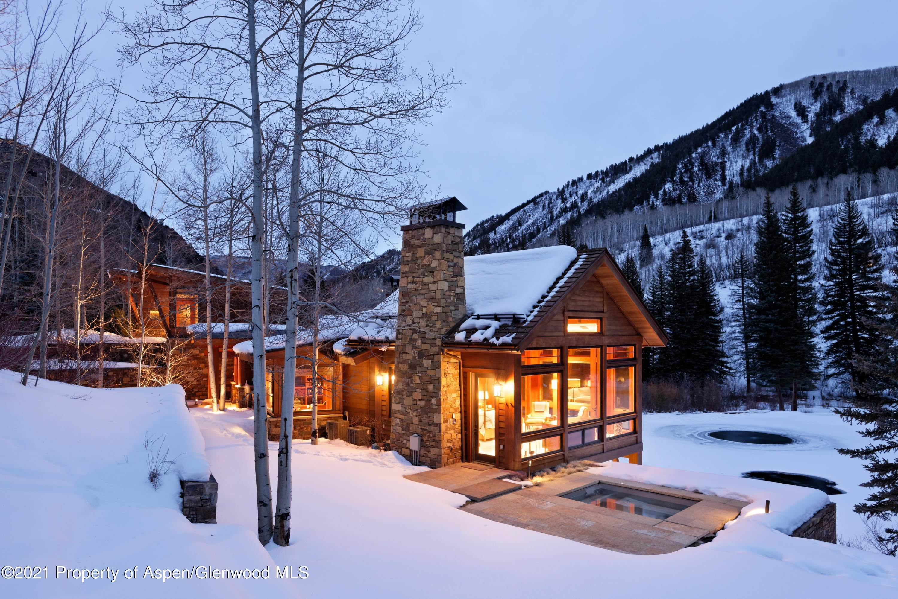 26. Single Family Home pour l à vendre à 55 Hall Drive Aspen, Colorado,81611 États-Unis