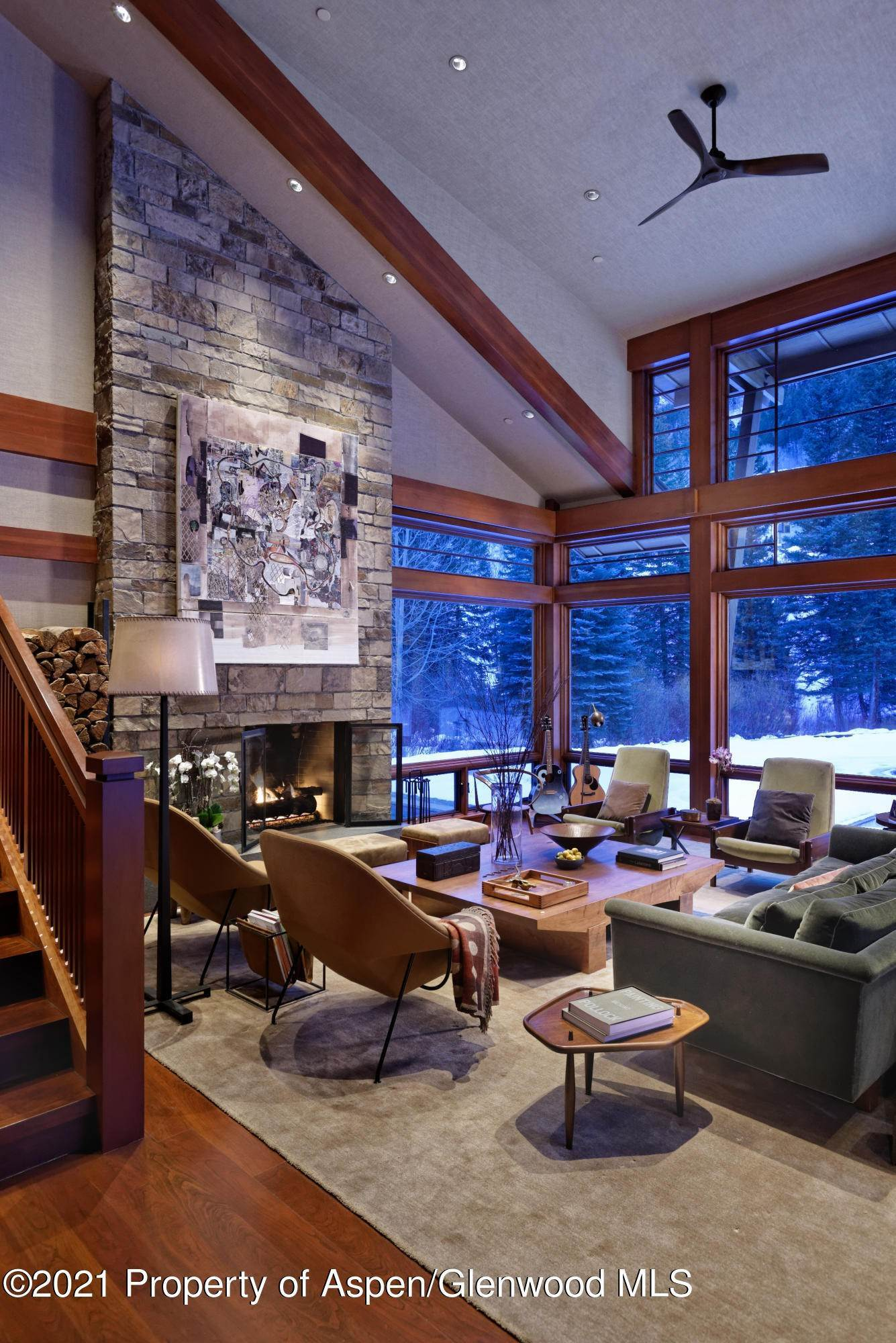 8. Single Family Home pour l à vendre à 55 Hall Drive Aspen, Colorado,81611 États-Unis