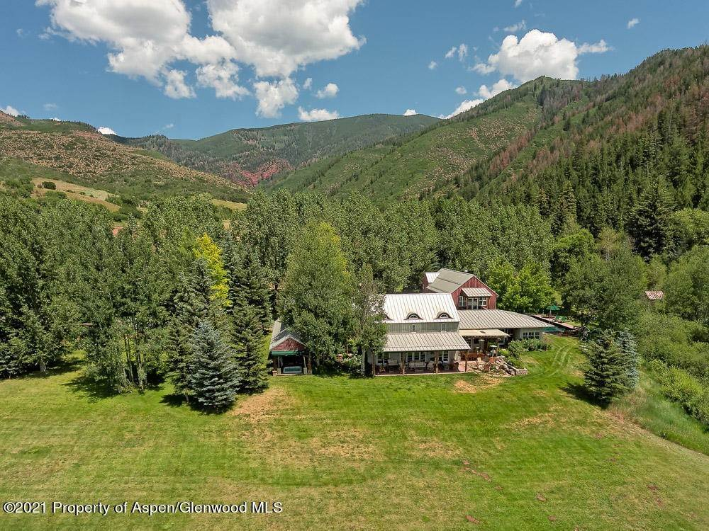 Single Family Home for Sale at 1060 Little Woody Creek Road Woody Creek, Colorado,81656 United States