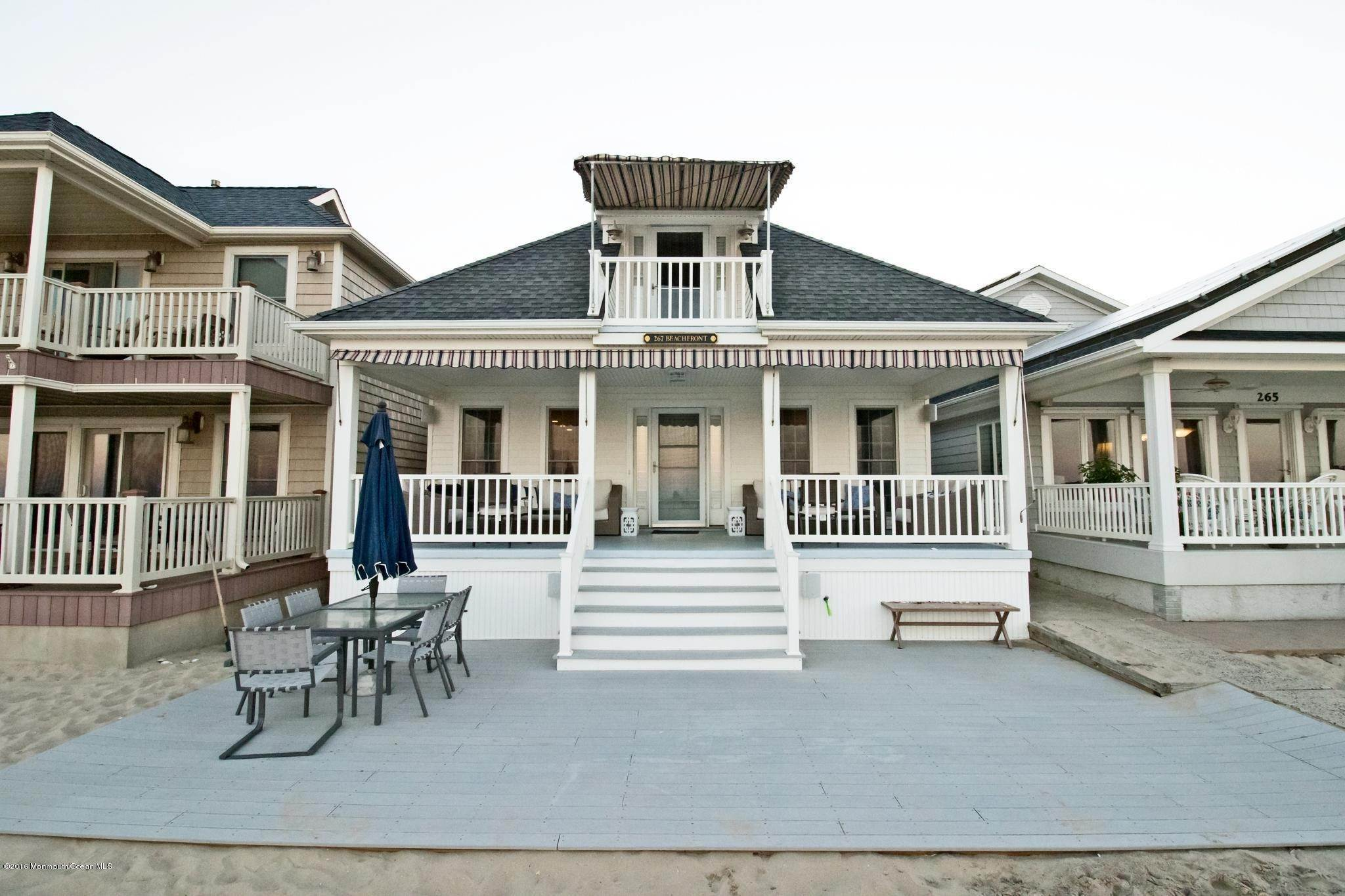 Single Family Home for Rent at 267 Beach Front Manasquan, New Jersey,08736 United States