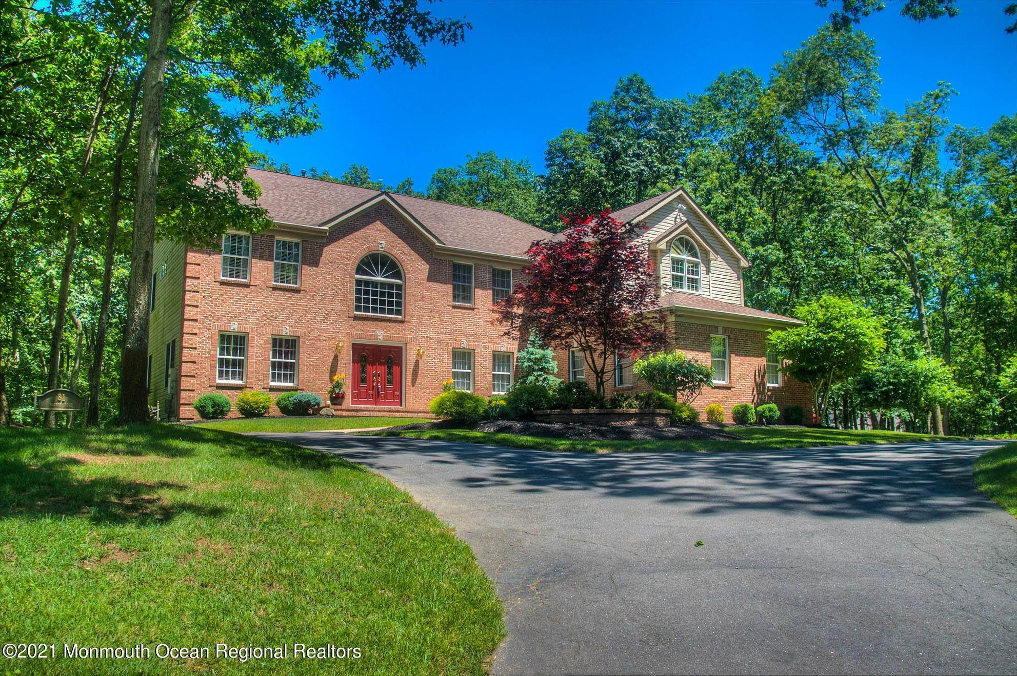 Single Family Home for Sale at 81 Agress Road Perrineville, New Jersey,08535 United States