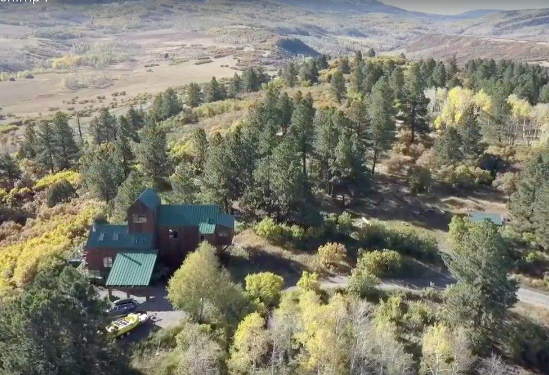 Single Family Home voor Verkoop op 450 South Point Road Placerville, Colorado,81430 Verenigde Staten