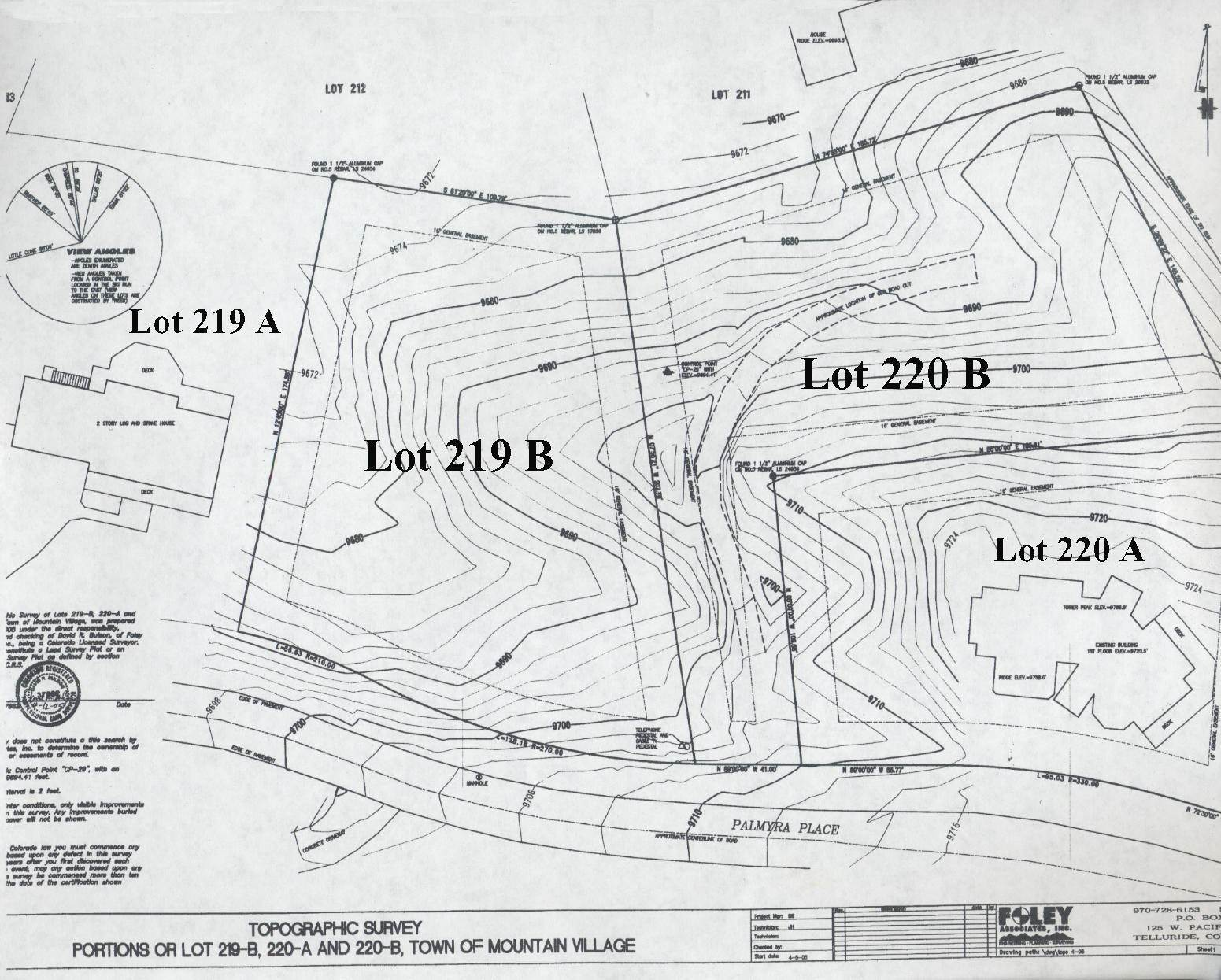16. Land/Lot for Sale at TBD Palmyra Drive Mountain Village, Colorado,81435 United States