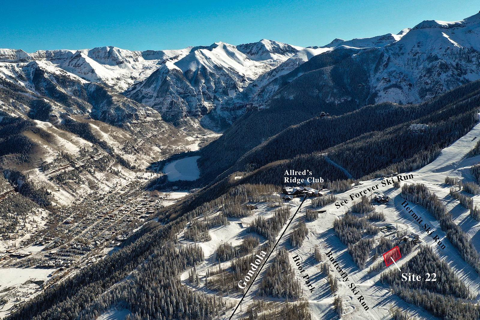 Terra / Lotto per Vendita alle ore unit 22 The Ridge Mountain Village, Colorado,81435 Stati Uniti