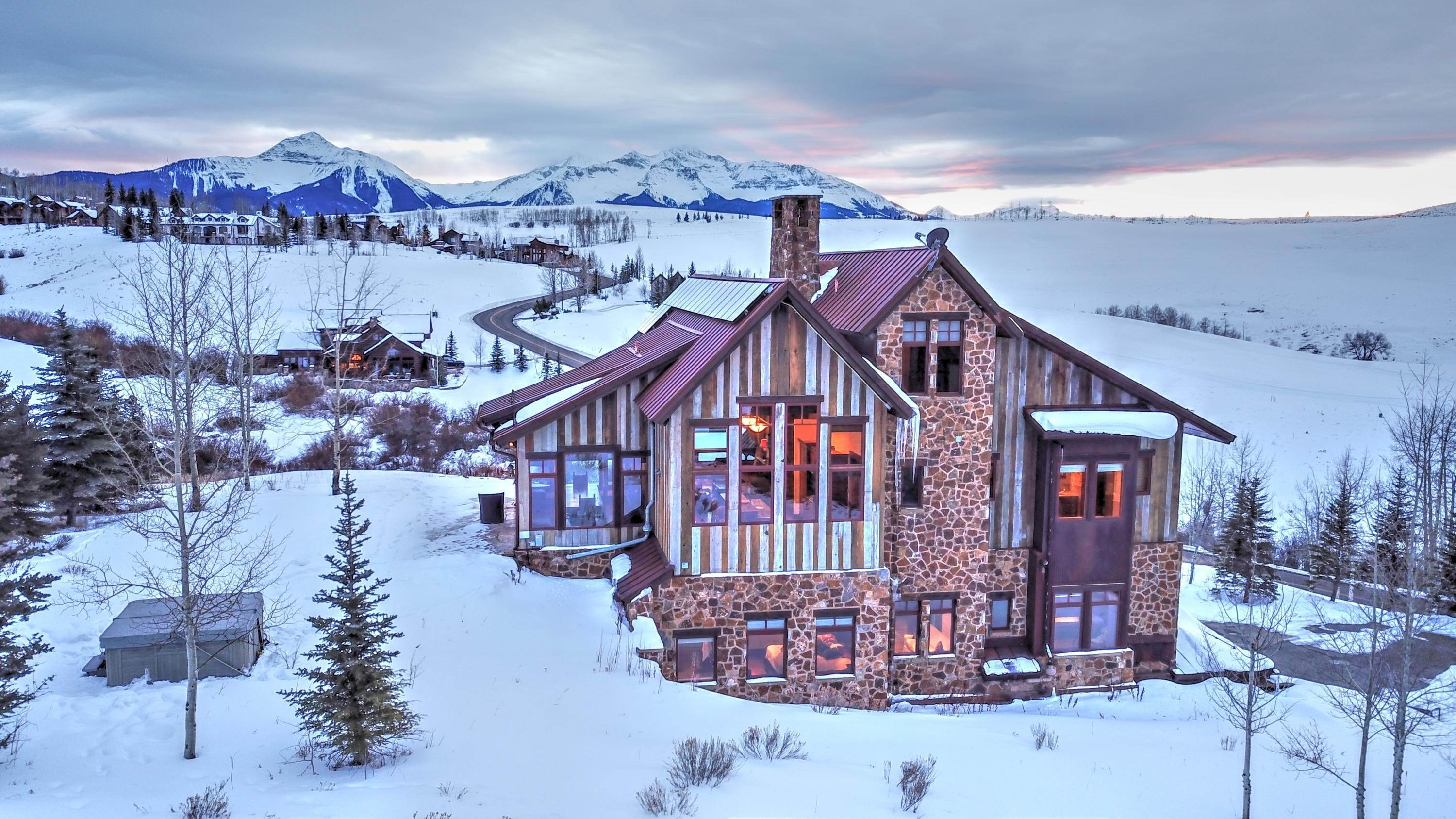 Single Family Home for Sale at 172 Adams Ranch Road Mountain Village, Colorado,81435 United States