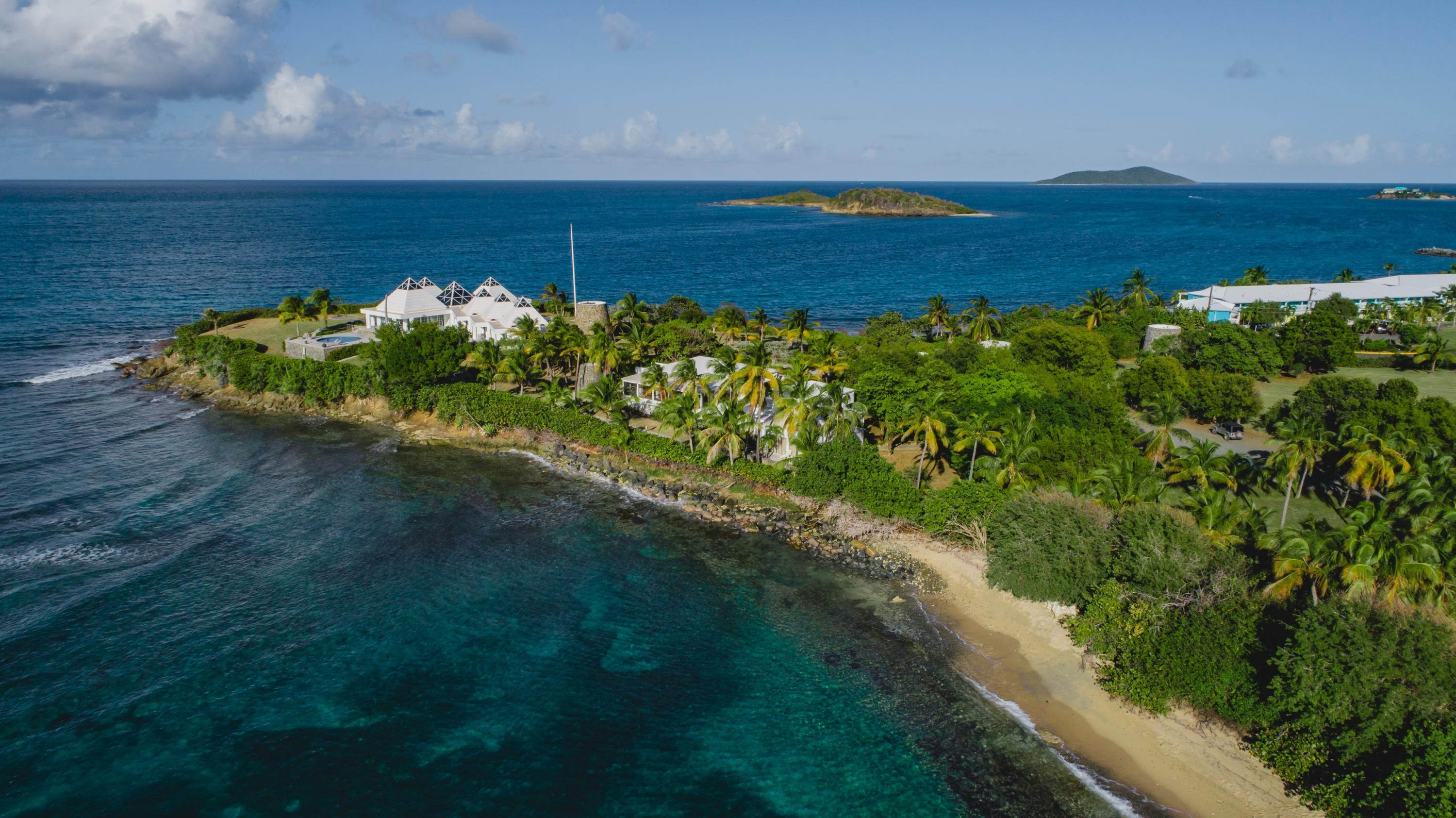 5. 저택 용 매매 에 Private St. Croix Compound with Three Guest Houses 1 Anna's Hope EA St Croix, Virgin Islands,00820 미국령 버진 아일랜드