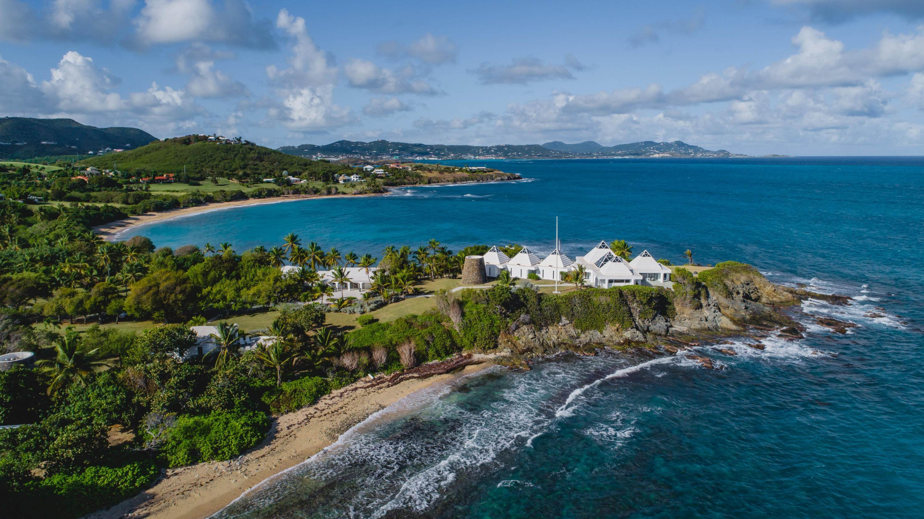 3. 저택 용 매매 에 Private St. Croix Compound with Three Guest Houses 1 Anna's Hope EA St Croix, Virgin Islands,00820 미국령 버진 아일랜드