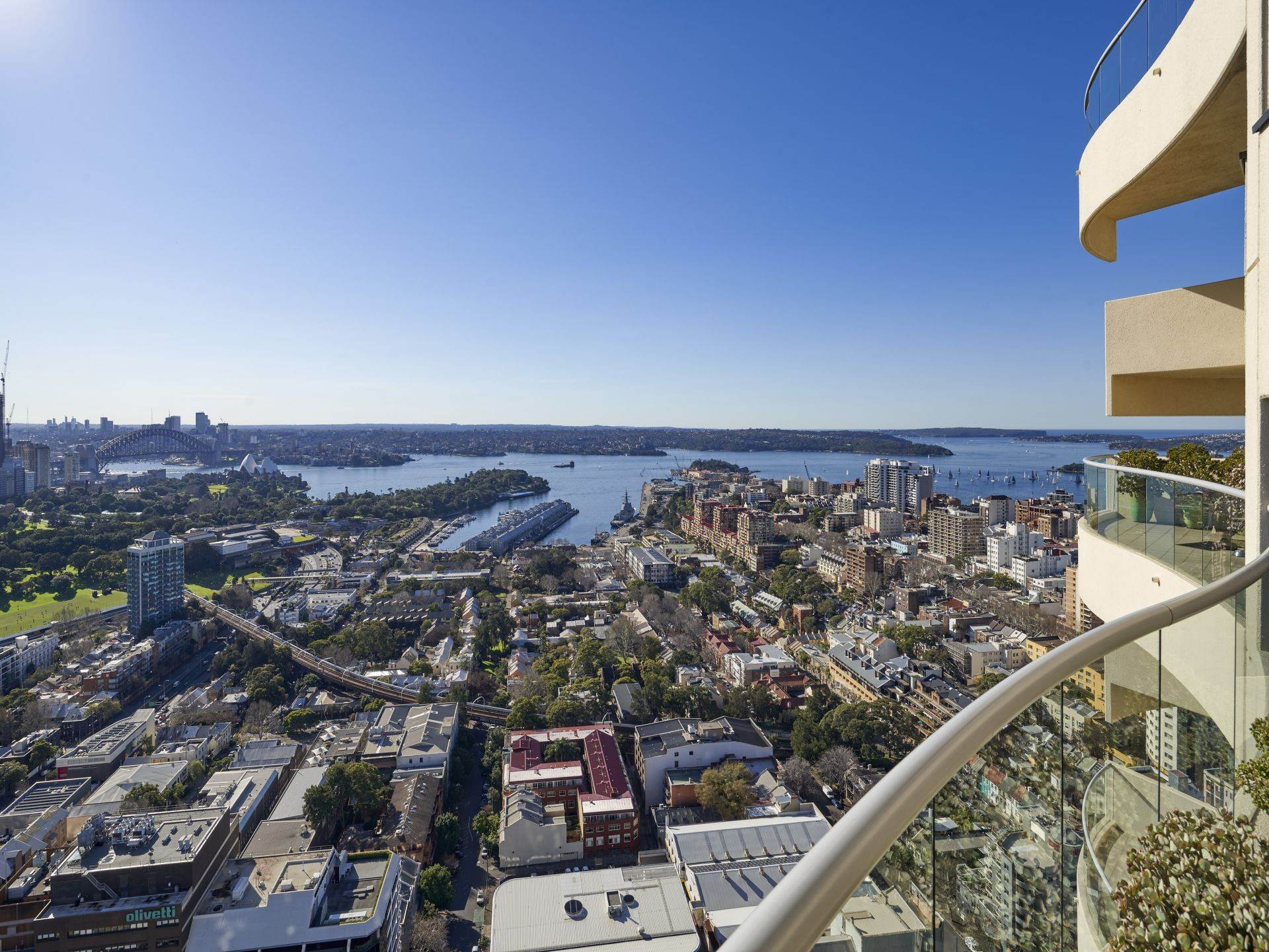 Residence/Apartment for Sale at Statement apartment with spectacular views Harry Seidler's 'The Horizon' 3403/184 Forbes Street New South Wales,2010 Australia