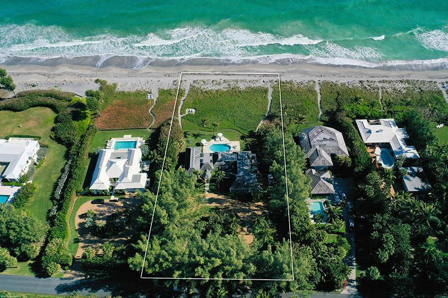 7. Single Family Home para Venda às Splendid Jupiter Island Oceanfront Jupiter Island, Florida,33455 Estados Unidos
