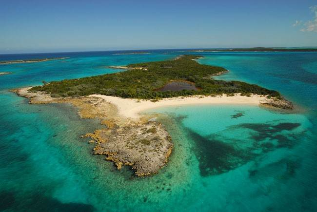 Private Island for Sale at Leaf Cay Private Island Exumas, Bahamas