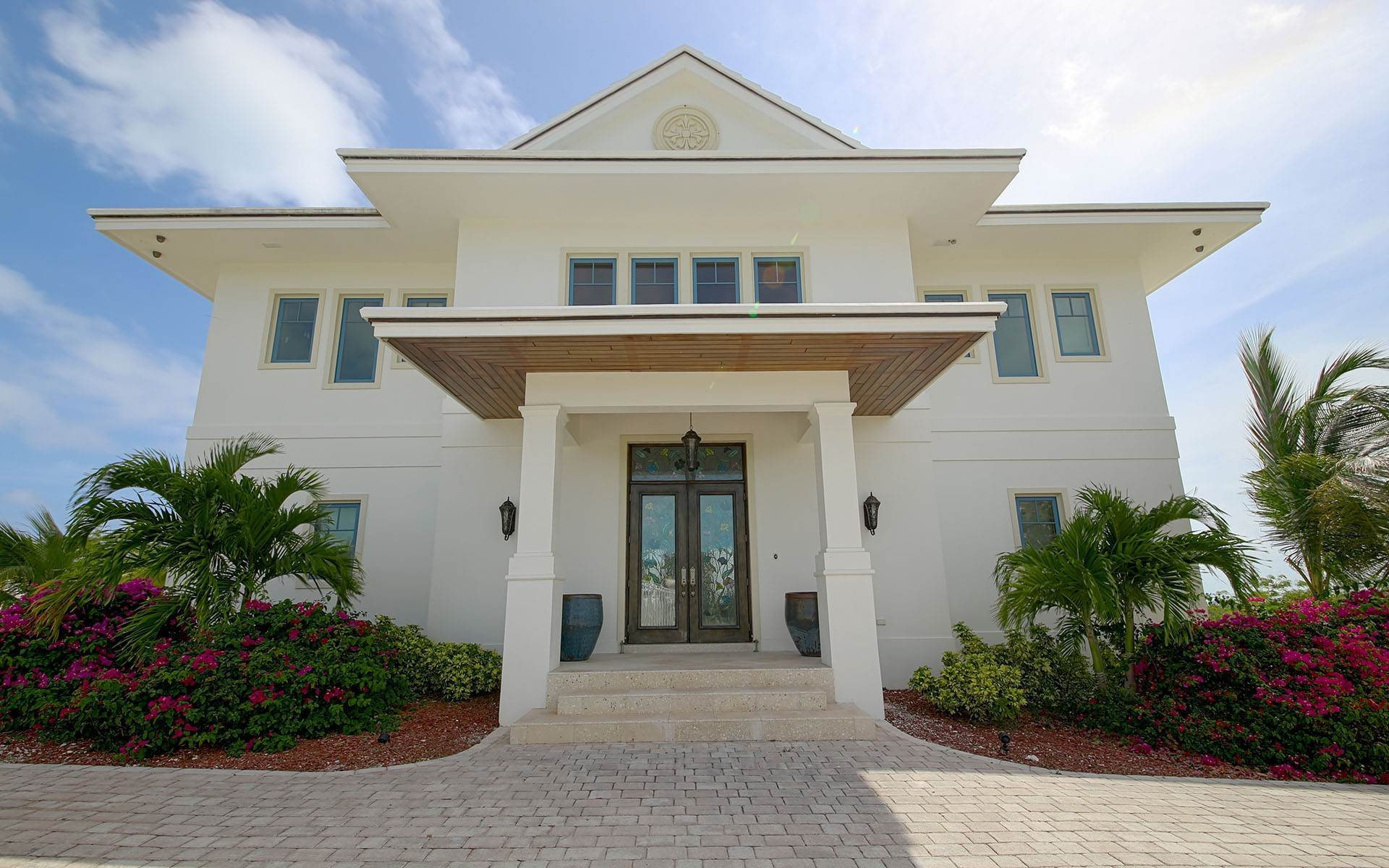 Single Family Home for Sale at White Heather - Estate Home with Expansive Ocean Views - MLS 30053 Exumas, Bahamas