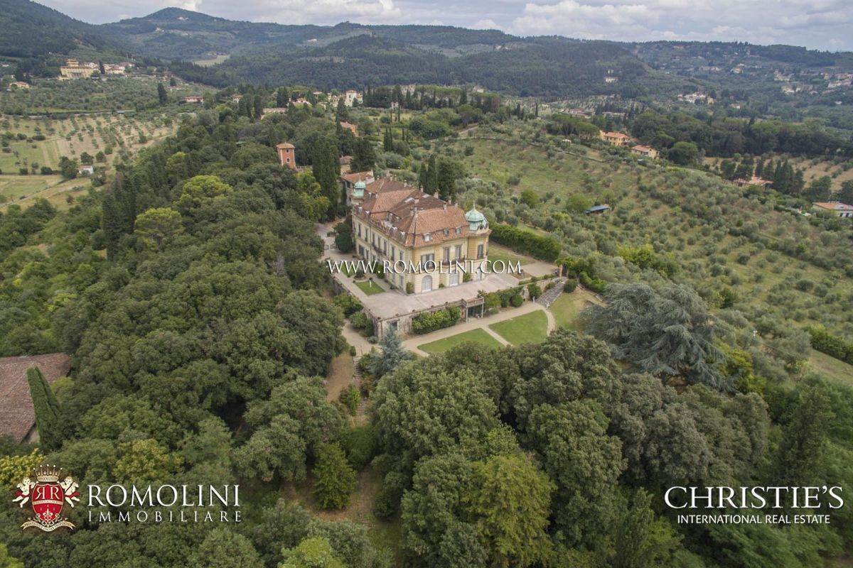 Villa/Townhouse for Sale at Florence - HISTORIC VILLA FOR SALE IN FIESOLE Firenze, Italy
