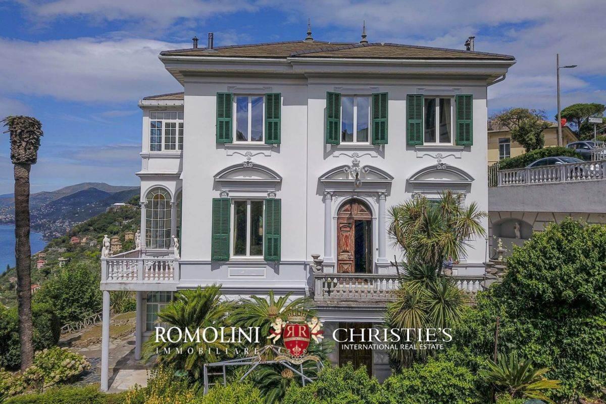 Liguria   SEA VIEW LIBERTY VILLA FOR SALE IN CAMOGLI a luxury ...