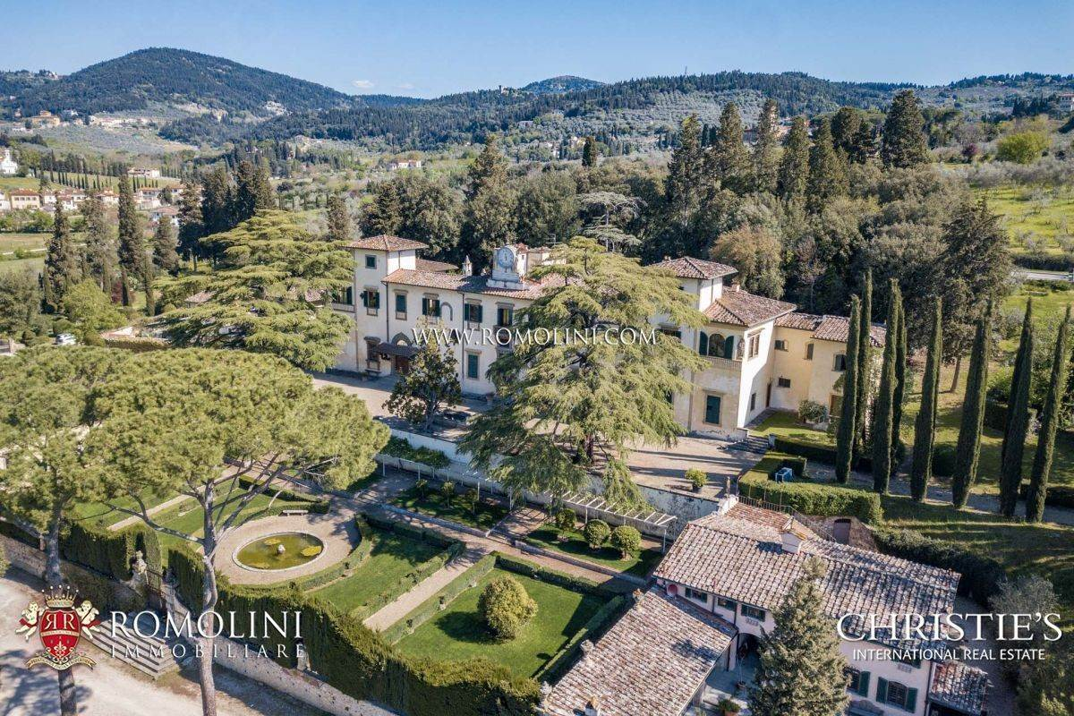 Villa/Townhouse for Sale at Tuscany - STUNNING HISTORICAL VILLA FOR SALE IN FLORENCE Fiesole, Italy