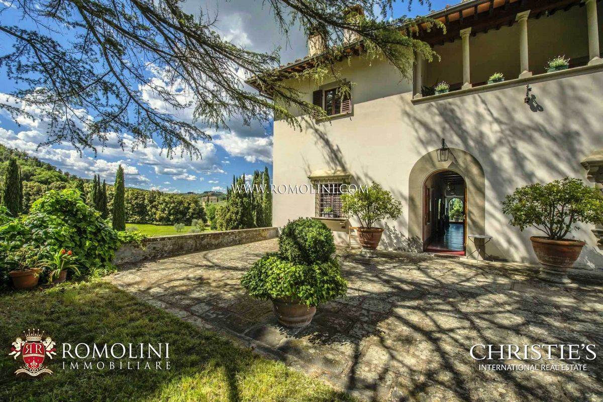 Chianti   TUSCAN ESTATE WITH LUXURY VILLA FOR SALE IN FLORENCE a ...