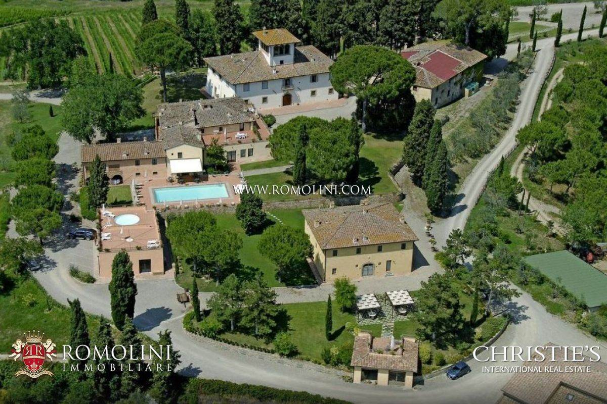 Vineyard for Sale at Chianti - 137-ha WINE ESTATE WITH COUNTRY HOUSES AND WINERY FOR SALE, FLORENCE Firenze, Italy