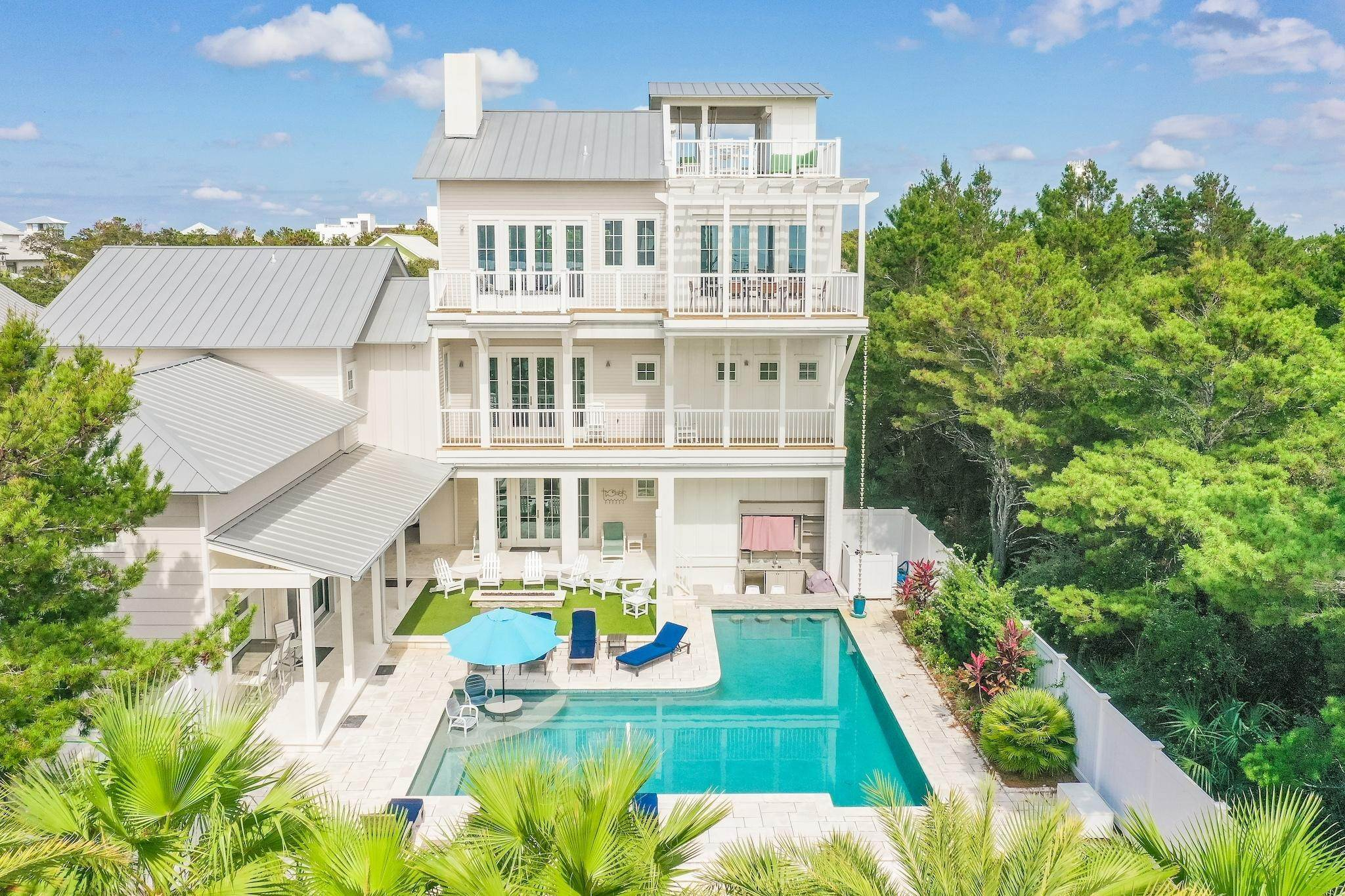 Single Family Home for Sale at 325 Walton Rose Lane Inlet Beach, Florida,32461 United States
