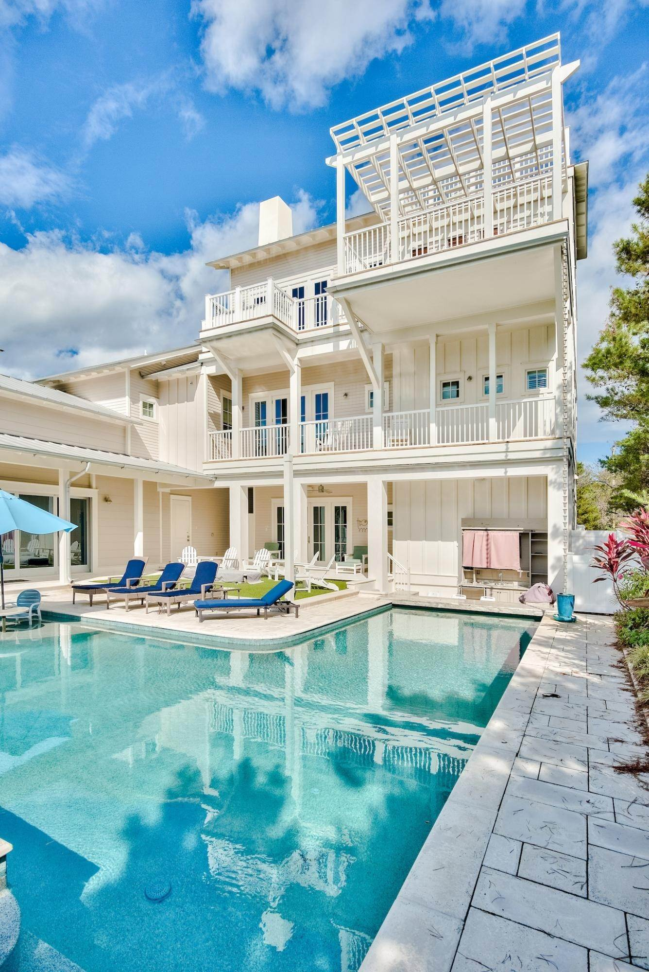9. Single Family Home for Sale at 325 Walton Rose Lane Inlet Beach, Florida,32461 United States