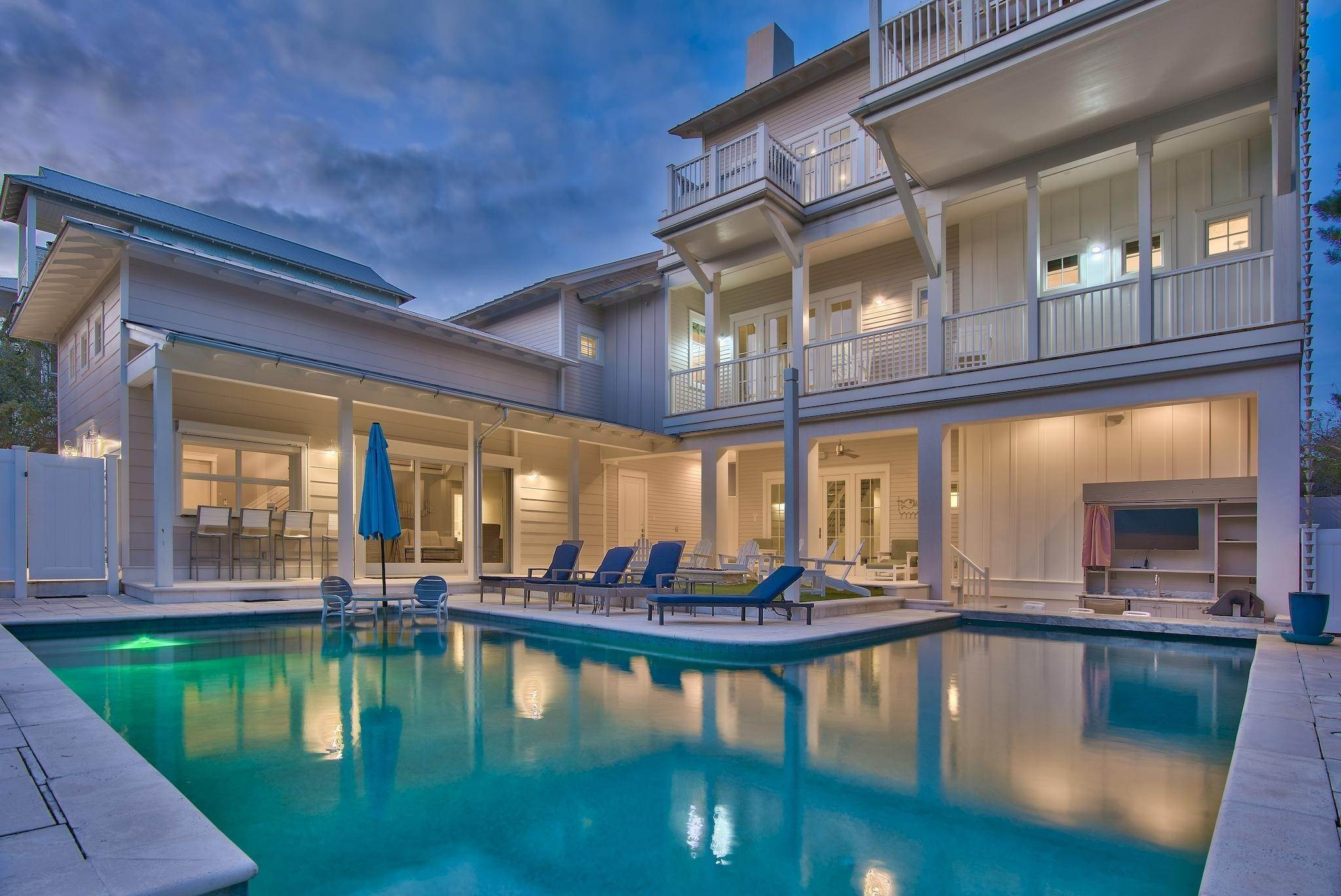74. Single Family Home for Sale at 325 Walton Rose Lane Inlet Beach, Florida,32461 United States