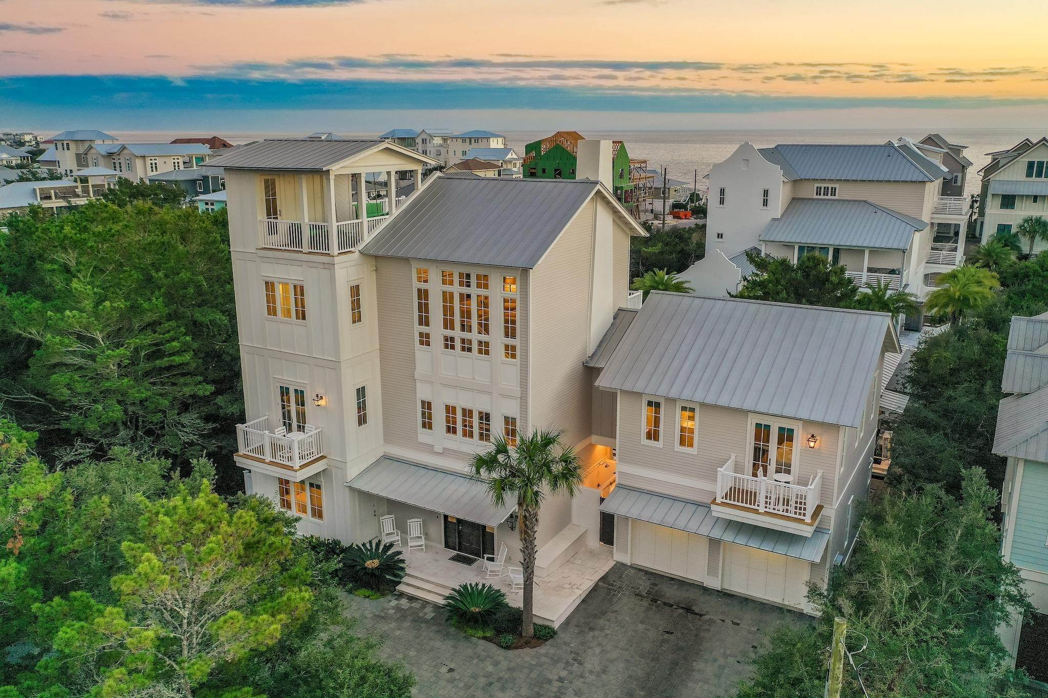 78. Single Family Home for Sale at 325 Walton Rose Lane Inlet Beach, Florida,32461 United States