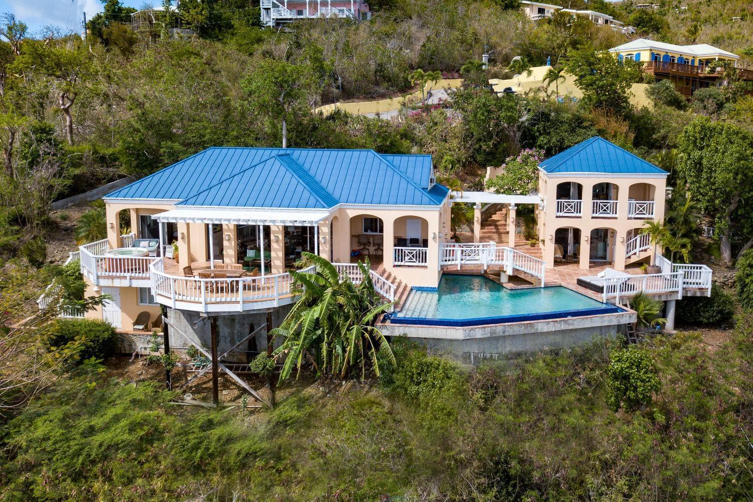 9. Single Family Home para Venda às 462 Chocolate Hole Cruz Bay St John, Virgin Islands,00830 U. S. Ilhas Virgens