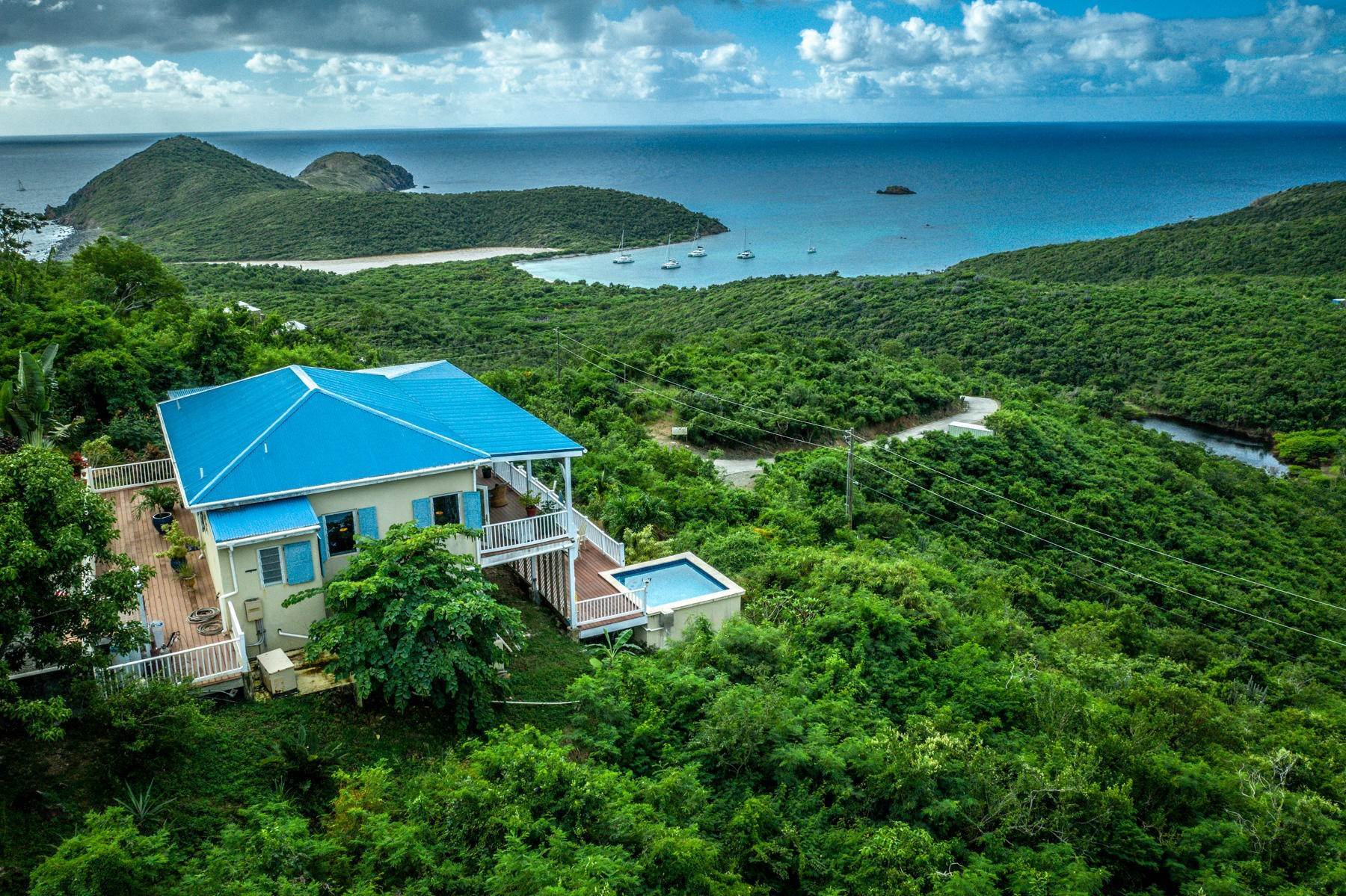 Single Family Home 為 出售 在 8 Concordia Coral Bay St John, Virgin Islands,00830 美屬維爾京群島