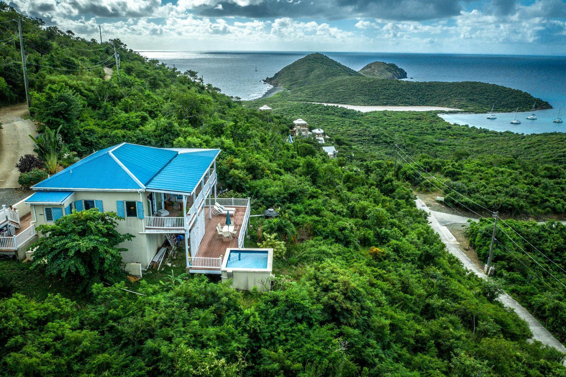 36. Single Family Home 為 出售 在 8 Concordia Coral Bay St John, Virgin Islands,00830 美屬維爾京群島