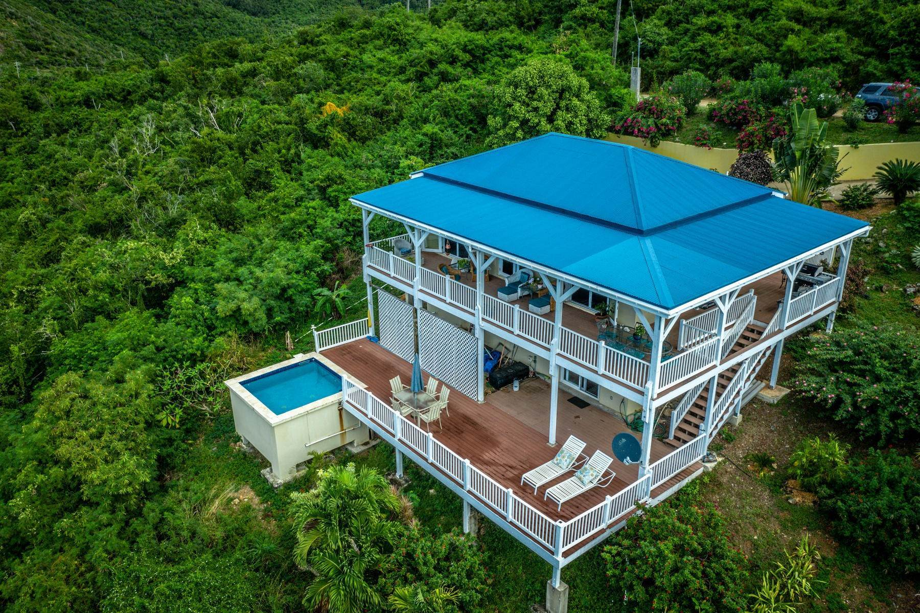 38. Single Family Home 為 出售 在 8 Concordia Coral Bay St John, Virgin Islands,00830 美屬維爾京群島