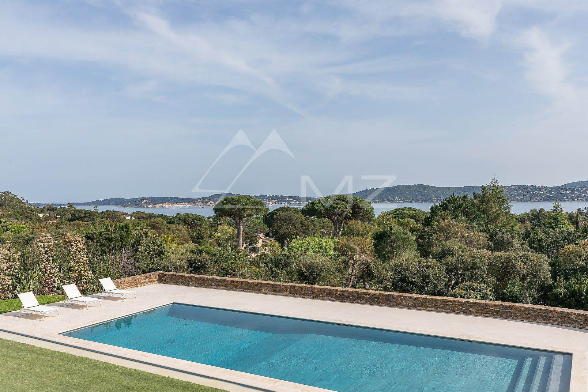 8. 别墅 为 销售 在 Close to Saint-Tropez - panoramic sea view Grimaud, Var,83310 法国