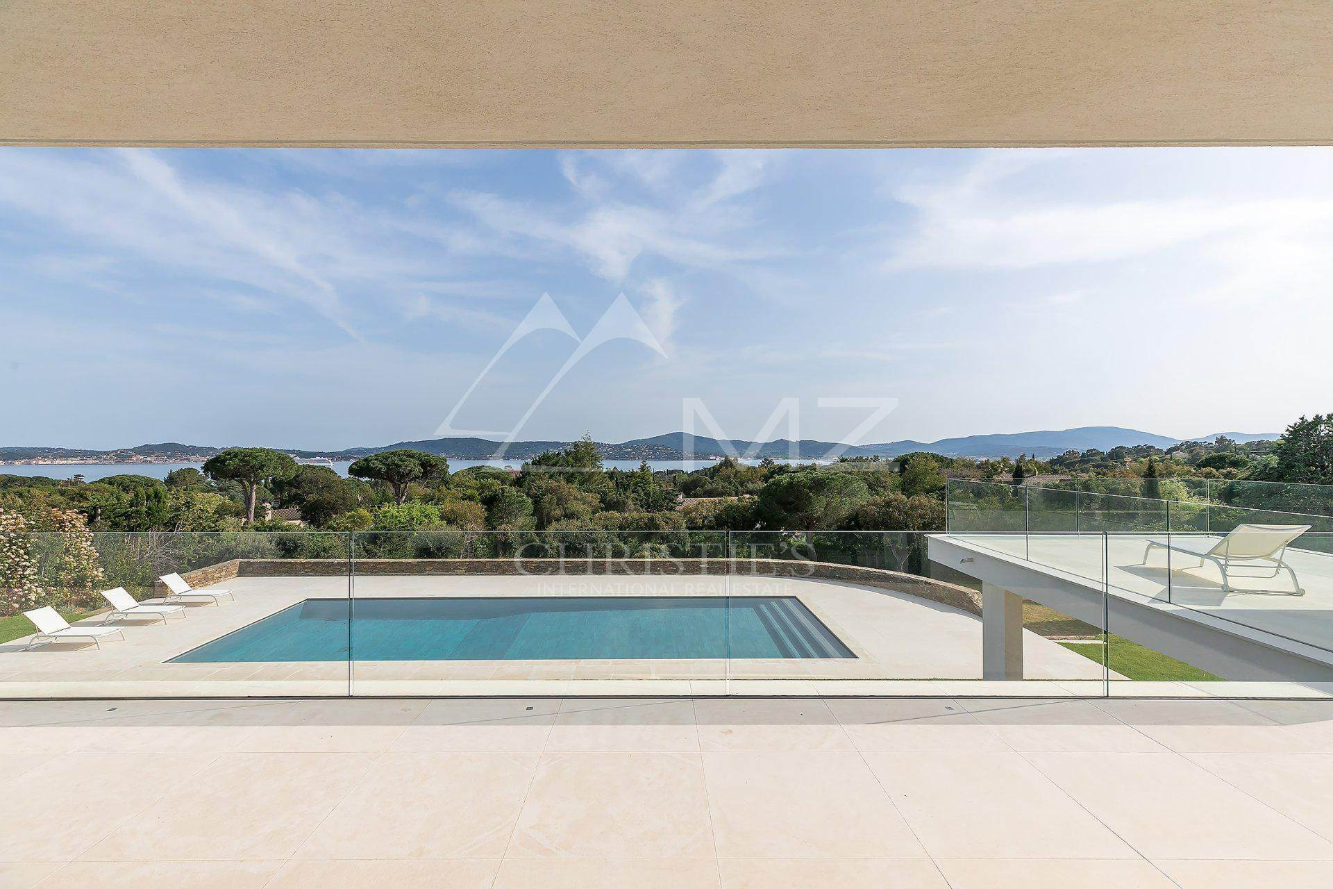 2. 别墅 为 销售 在 Close to Saint-Tropez - panoramic sea view Grimaud, Var,83310 法国
