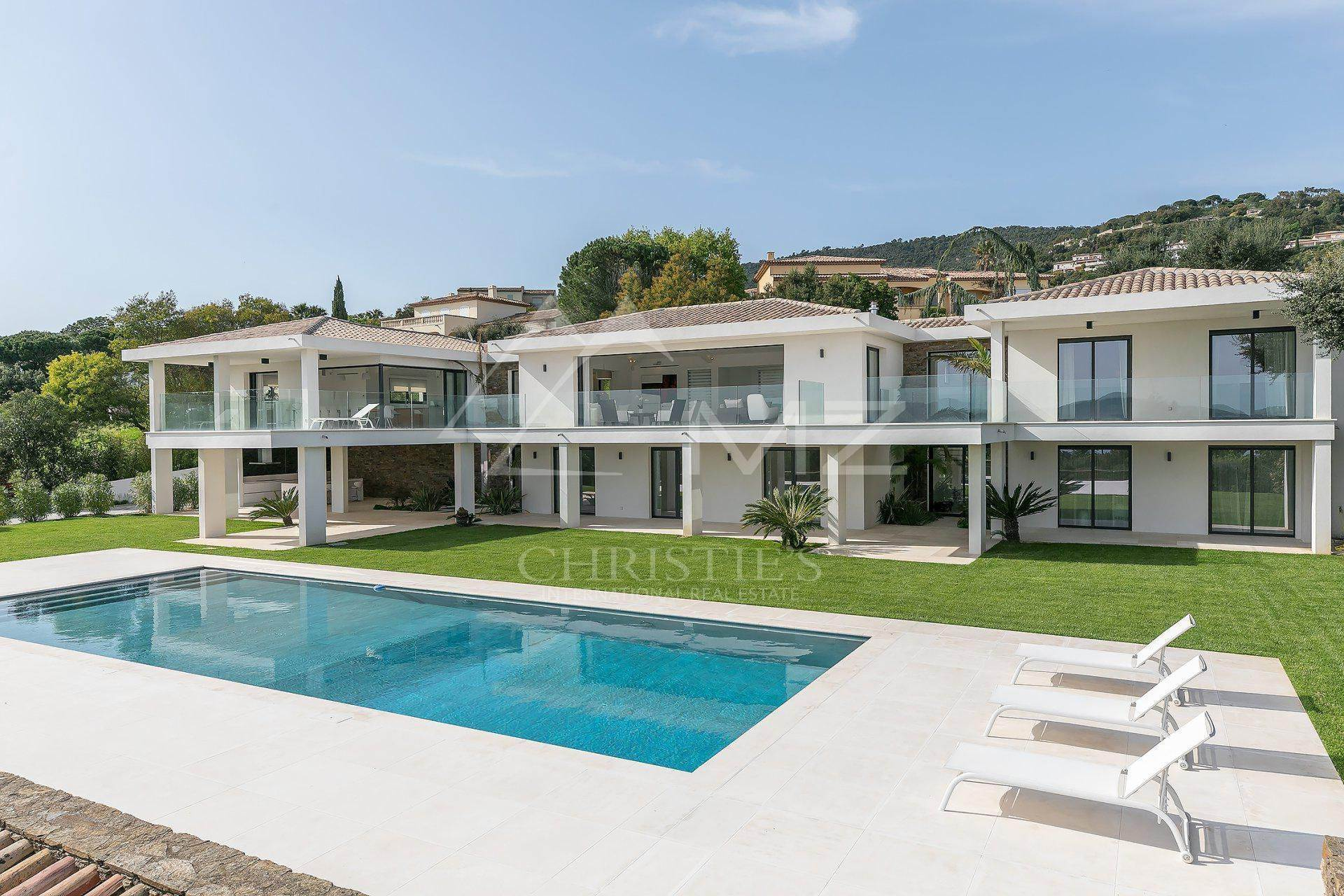 别墅 为 销售 在 Close to Saint-Tropez - panoramic sea view Grimaud, Var,83310 法国