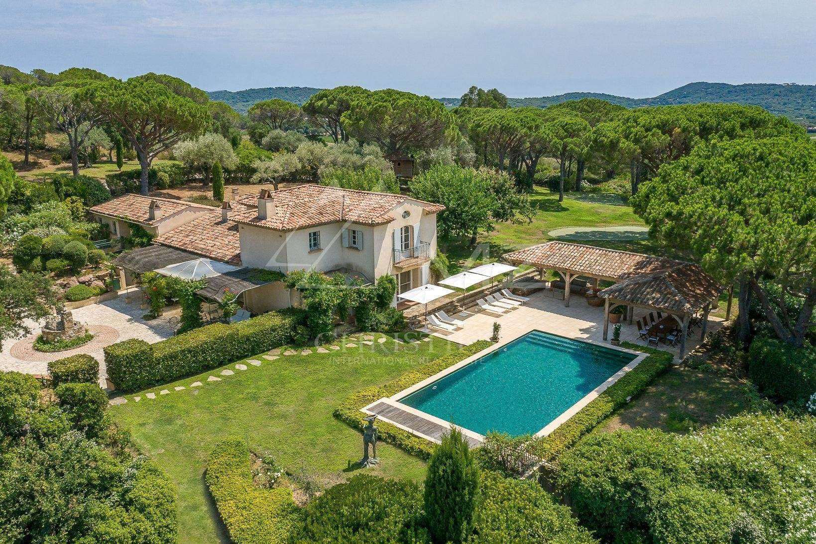 Villa/Townhouse for Sale at Ramatuelle - Nice property on a plot of 17 hectares Ramatuelle, Var,83350 France