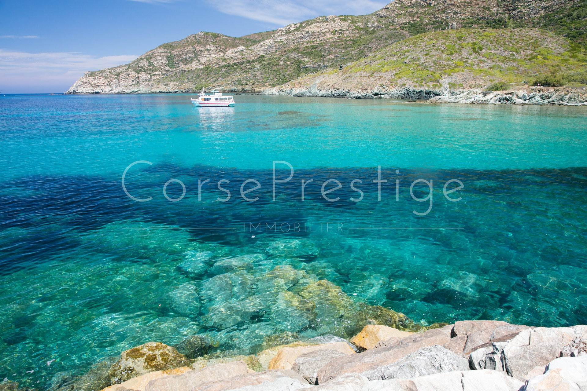 Villa/Townhouse for Sale at Waterfront villa for sale North Corsica - Cap Corse CAP CORSICA Cap Corse, Corsica,20248 France