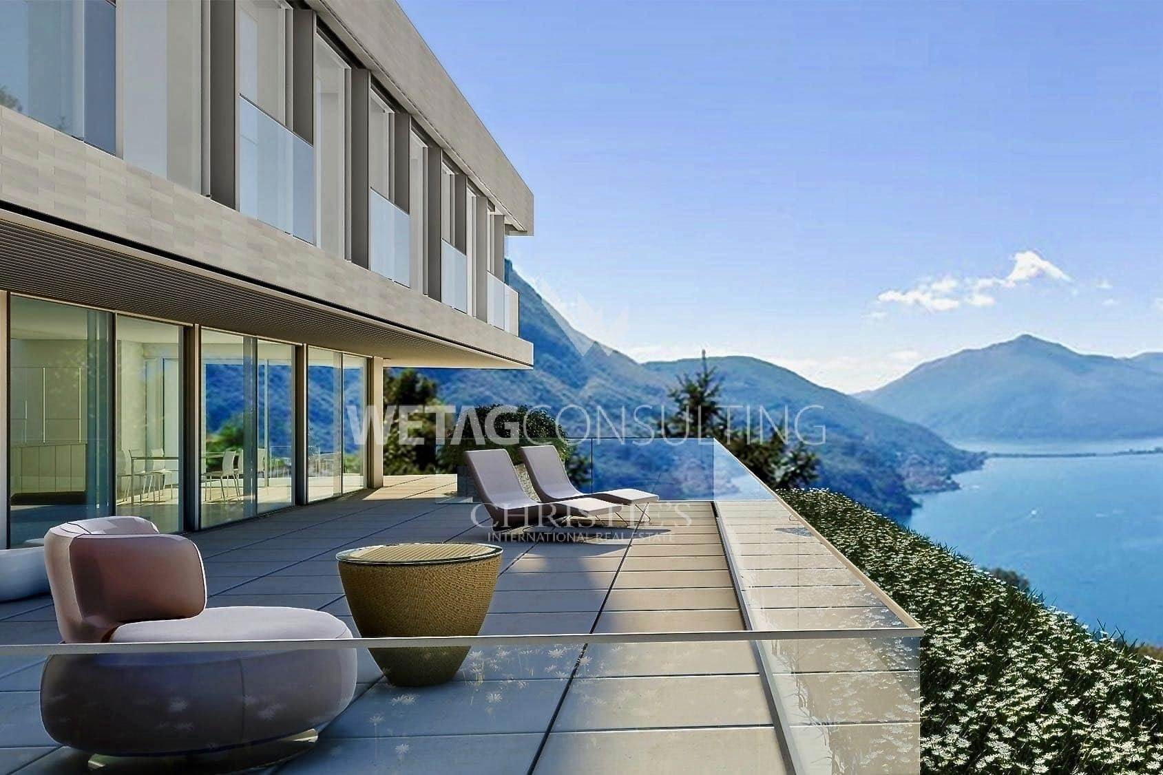 公寓 為 出售 在 6.5-room apartment for sale with great Lake Lugano view Aldesago, 提契诺,6974 瑞士