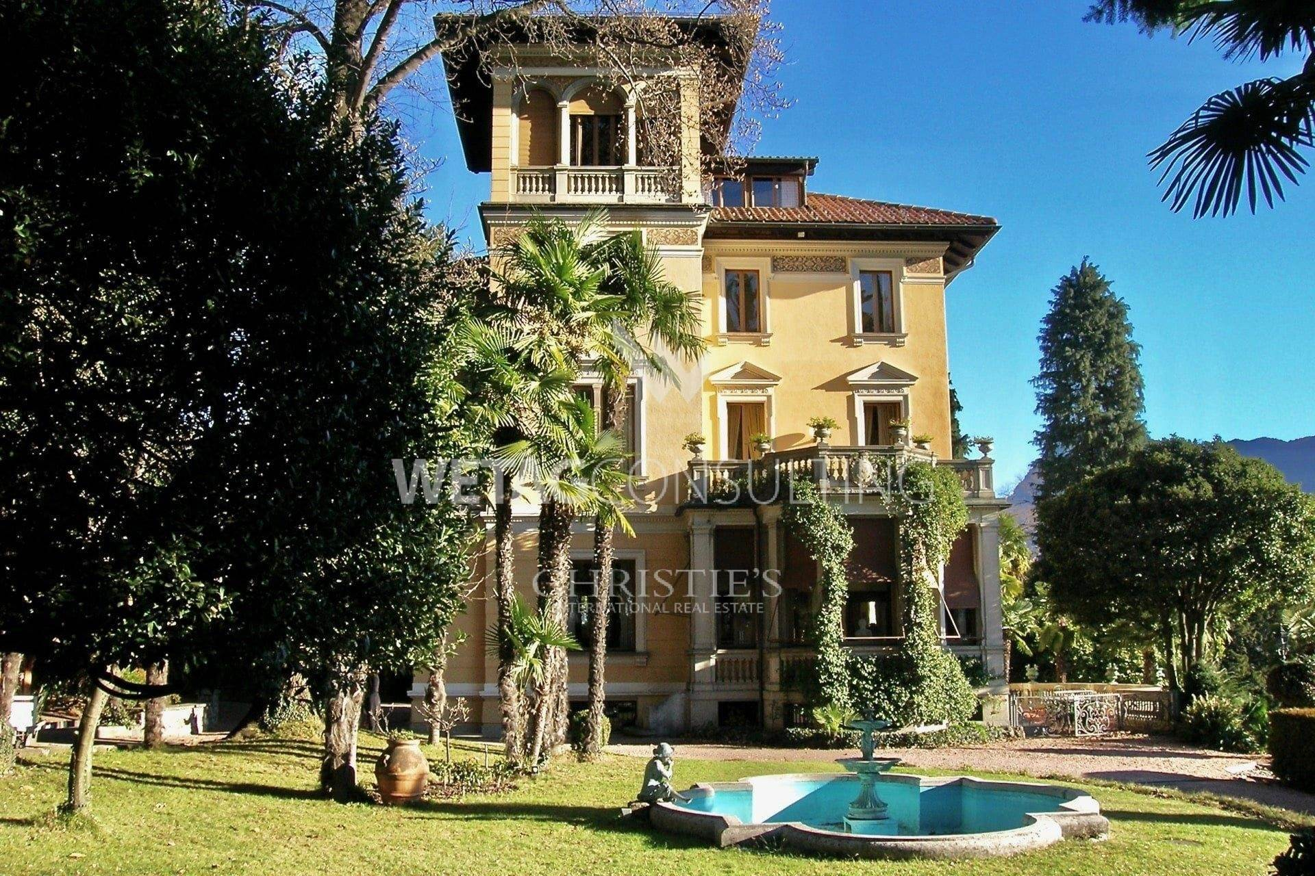 別墅 / 联排别墅 為 出售 在 Luxury villa Floridiana in Lugano for sale Porza, 提契诺,6948 瑞士