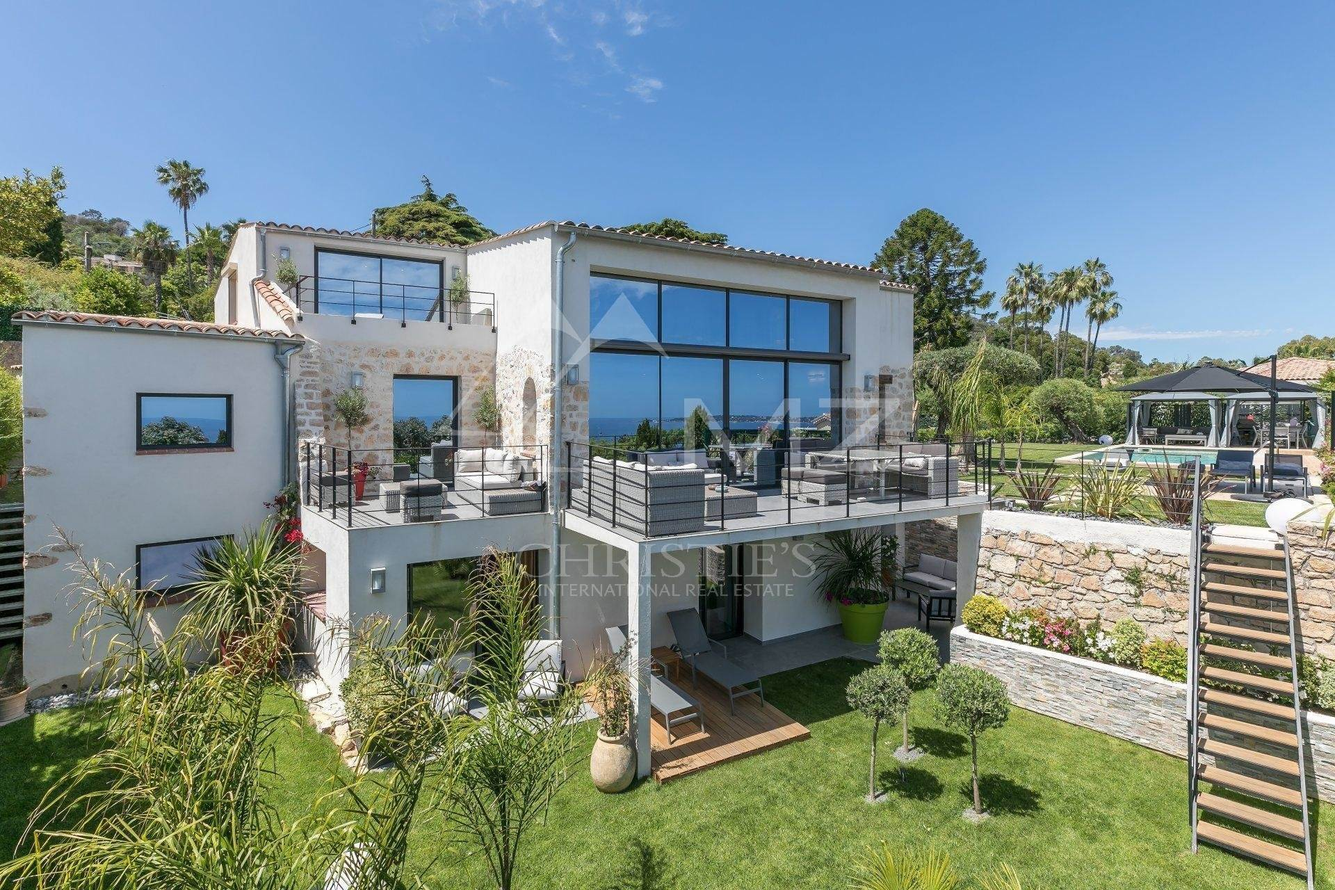 Villa/Townhouse for Sale at Cannes Eden - 180° panoramic sea views Vallauris, Alpes-Maritimes,06220 France