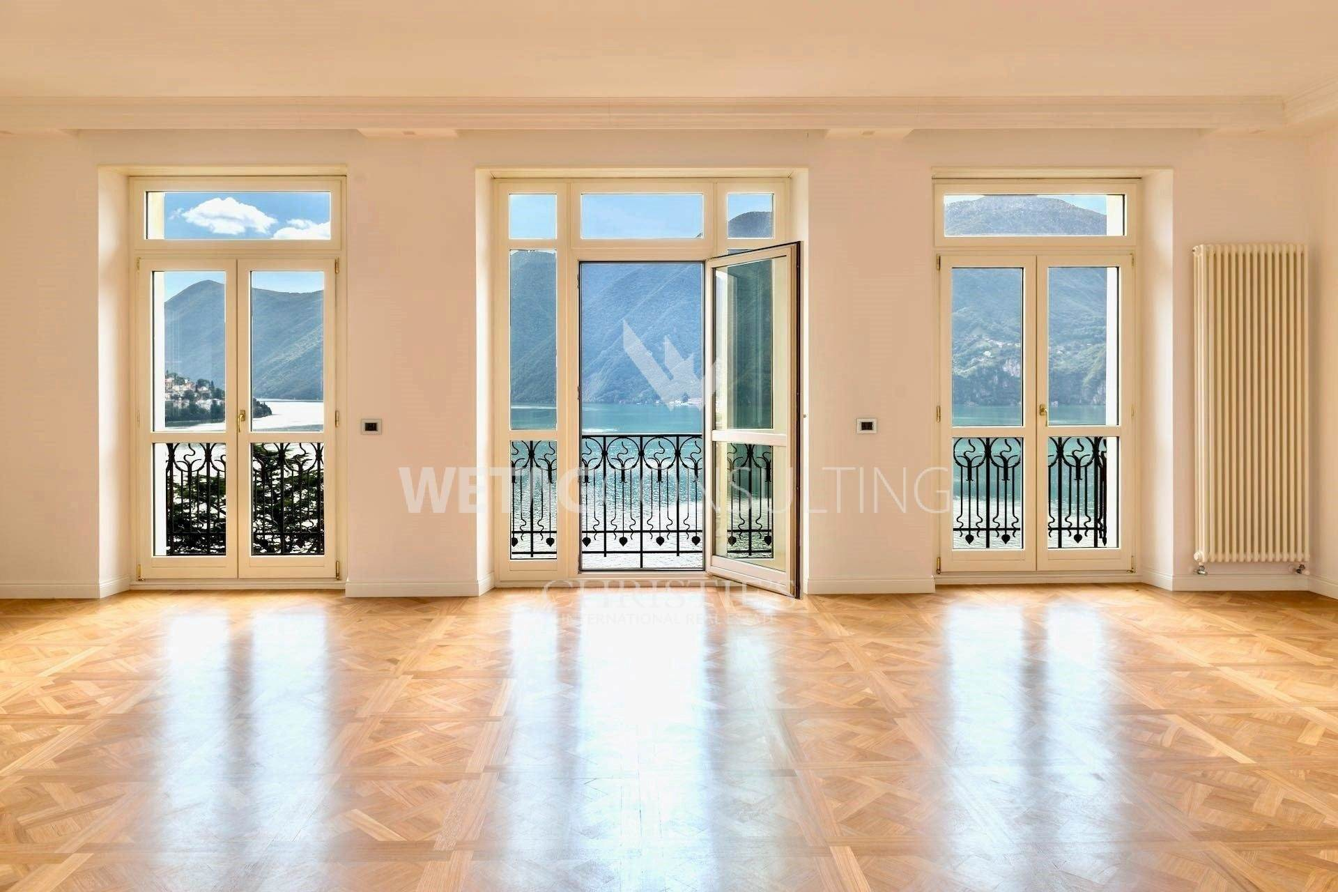 2. Apartamento por un Venta en Noble apartment house Bristol: duplex-penthouse for sale in the heart of Lugano Lugano, Tesino,6900 Suiza