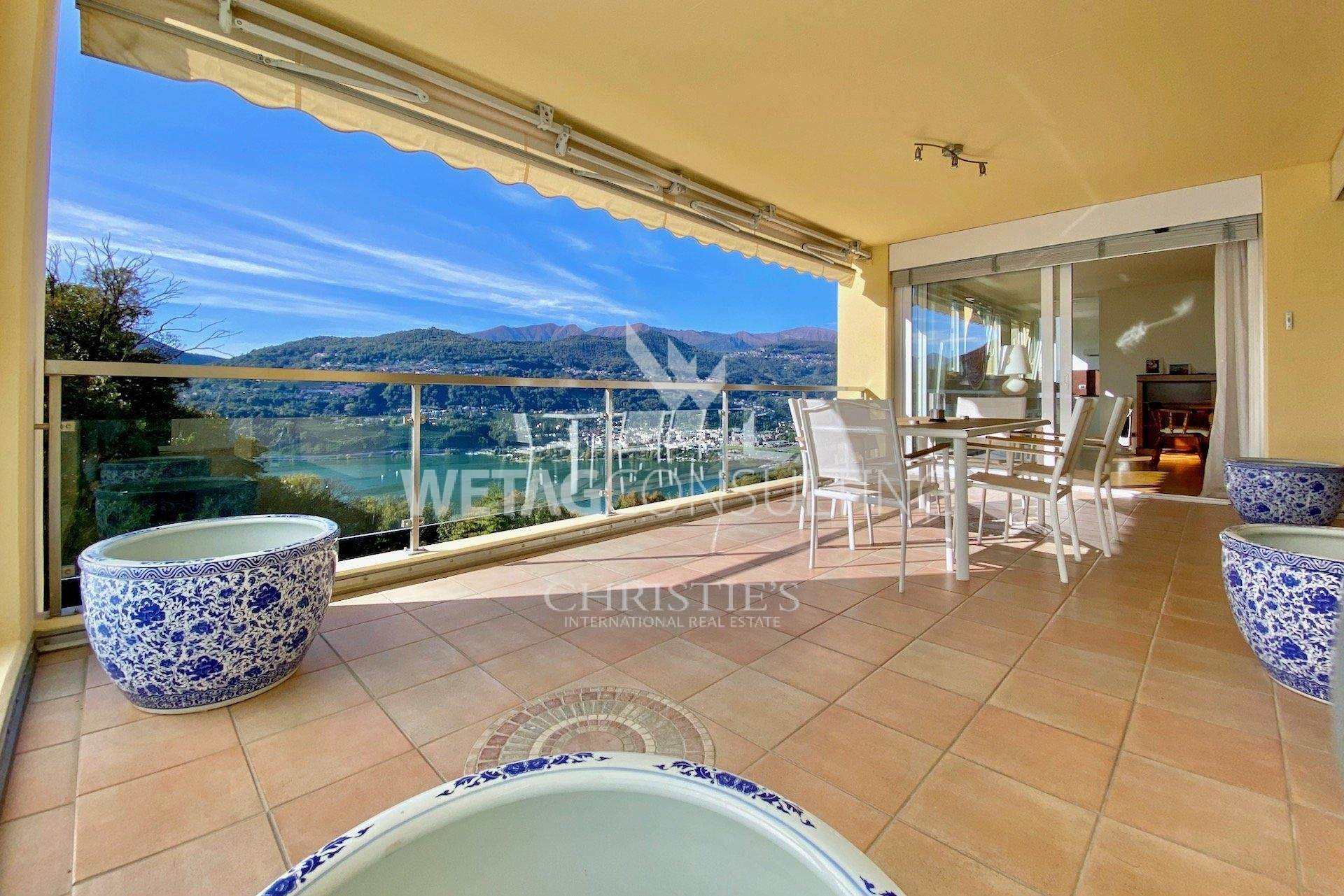 公寓 為 出售 在 Montagnola: penthouse apartment for sale with panoramic roof terrace Montagnola, 提契诺,6926 瑞士
