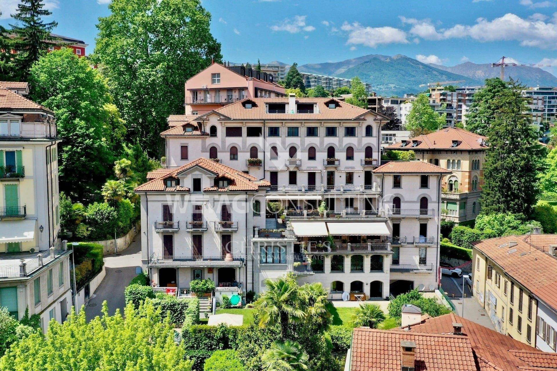 Residence/Apartment for Sale at Apartment in the historic center of Lugano with wonderful lake view for sale Lugano, Ticino,6900 Switzerland