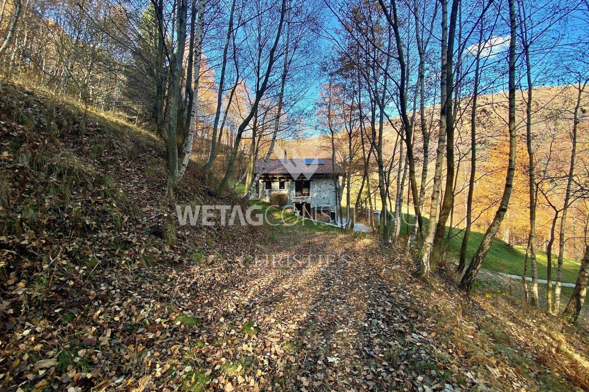 9. Villa / Maison de ville pour l à vendre à Completely renovated rustico in the middle of the green in Lugano-Cimadera for sale Cimadera, Tessin,6959 Suisse