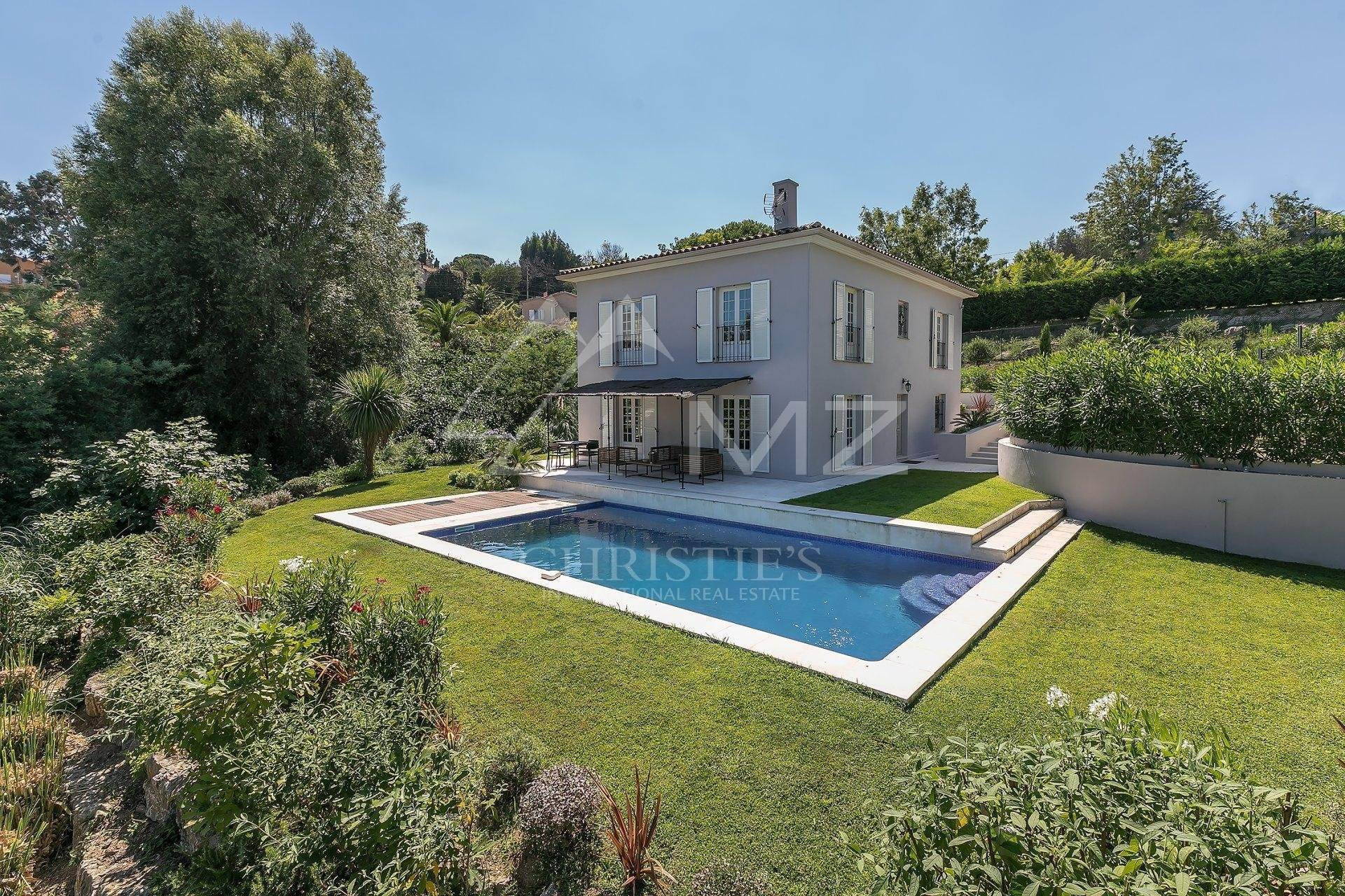 Villa/Townhouse for Sale at Cannes - Super Cannes - Newly built villa Vallauris, Alpes-Maritimes,06220 France